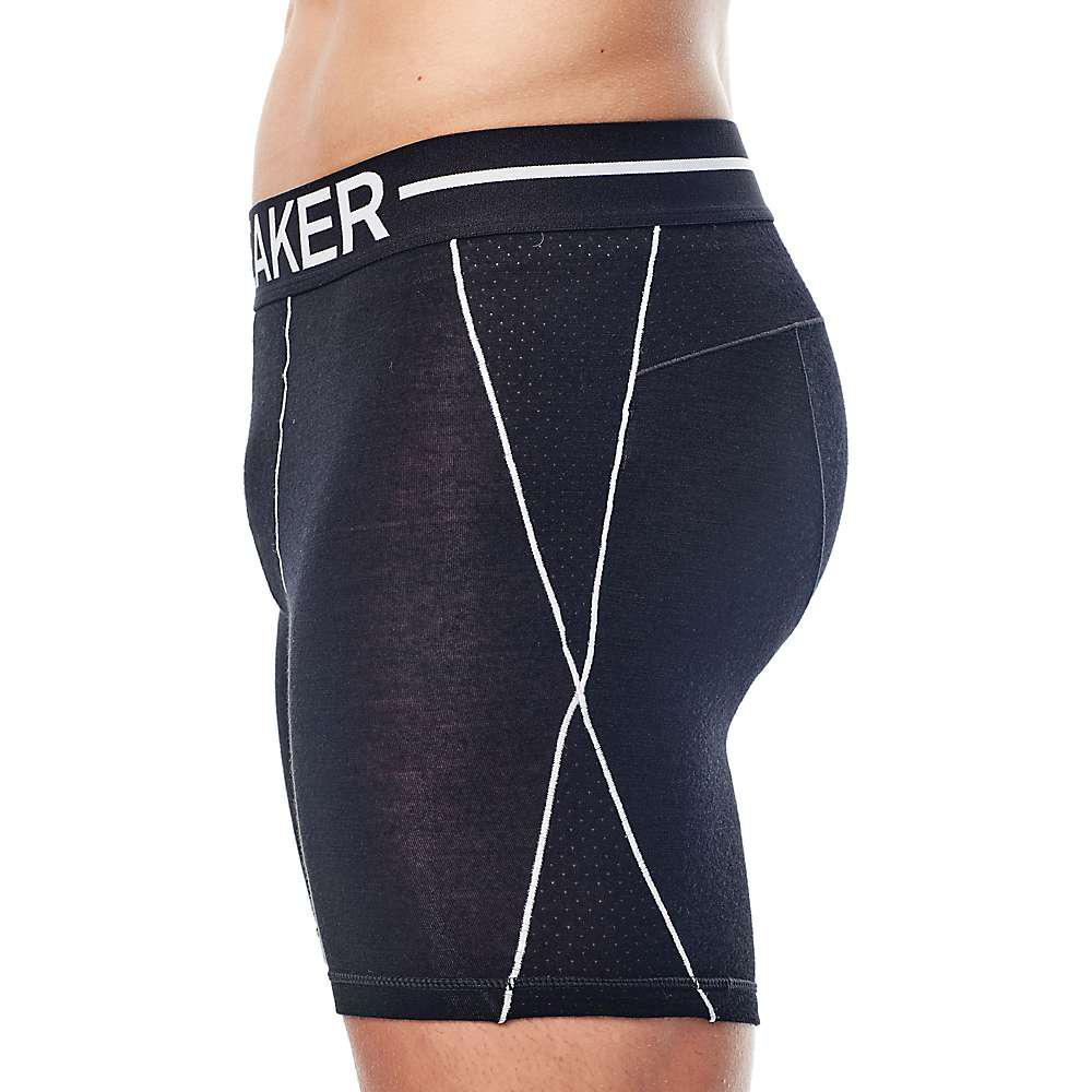 26c78de7b1d567 Icebreaker - Black Anatomica Zone Long Boxer for Men - Lyst. View fullscreen