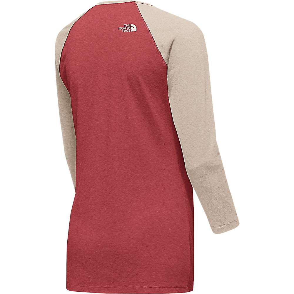 1acca37f419 Lyst - The North Face Tenaya 3 4 Sleeve Baseball Tee in Red