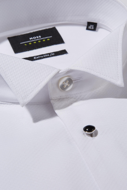 89bfbfc988d Moss Bros - Multicolor Extra Slim Fit Marcella Wing Collar Dress Shirt for  Men - Lyst. View fullscreen