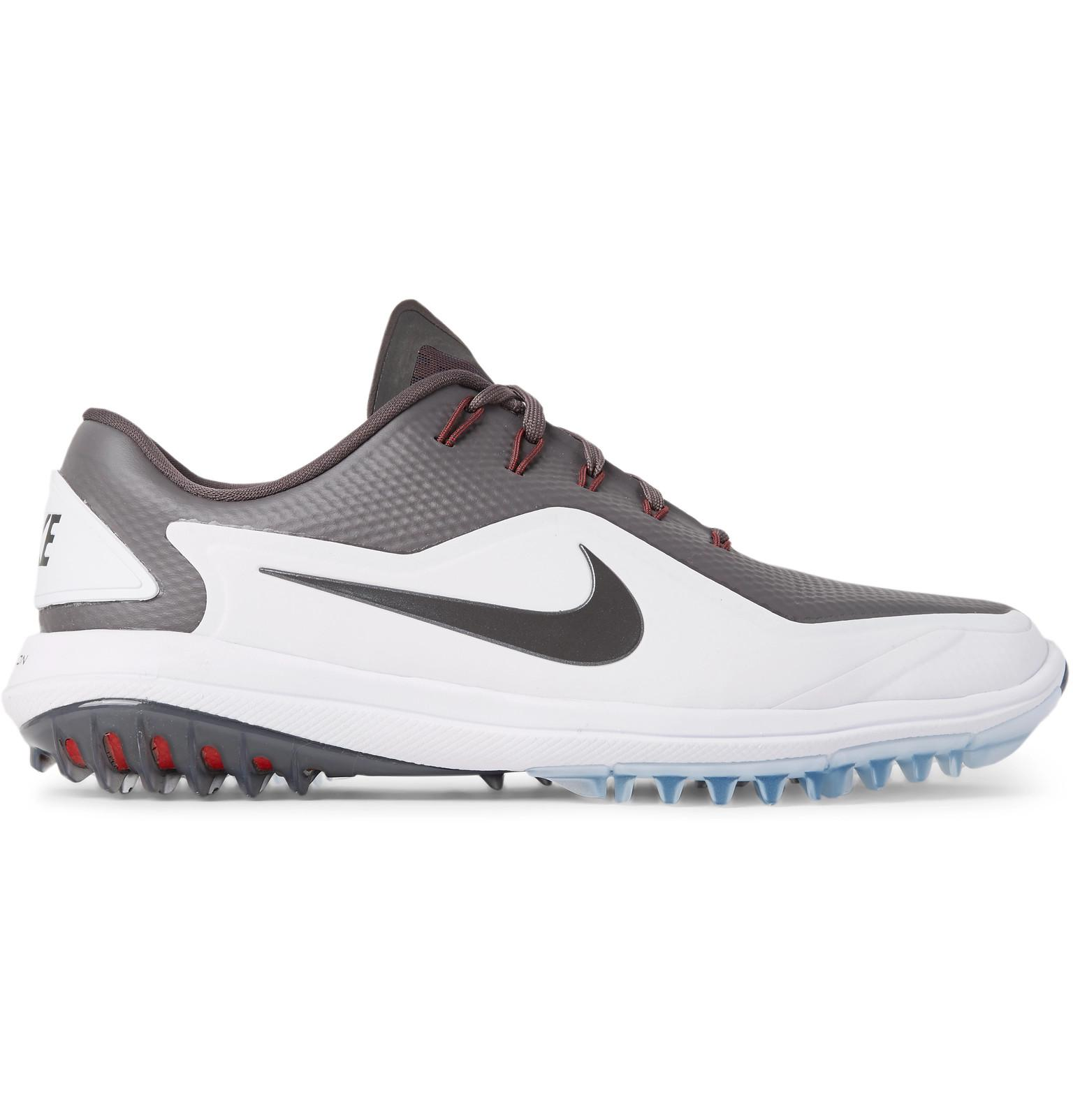 new styles 7f70f e62b6 Lyst - Nike Lunar Control Vapor 2 Coated-mesh Golf Shoes in Gray for Men