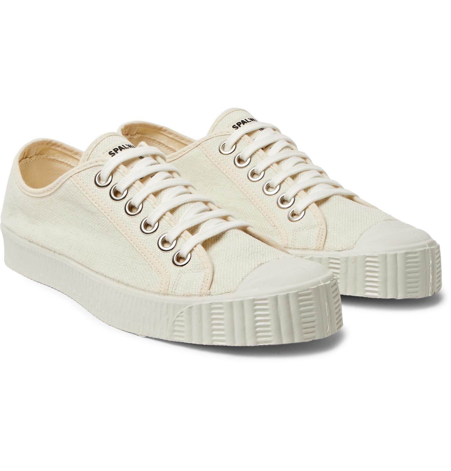Special Cap-toe Linen-canvas Sneakers - BlackSpalwart oh61IUJTIs