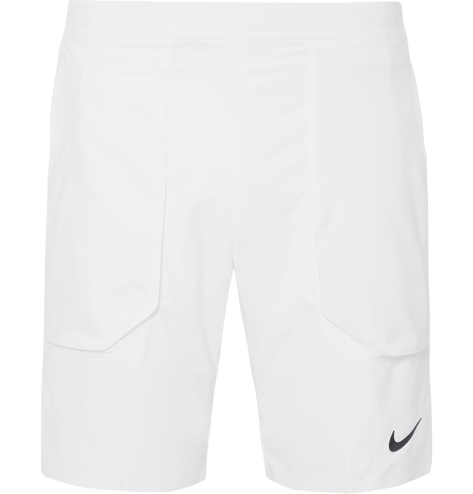81b8eea329f0 Nike Nikecourt Flex Ace Dri-fit Tennis Shorts in White for Men - Lyst