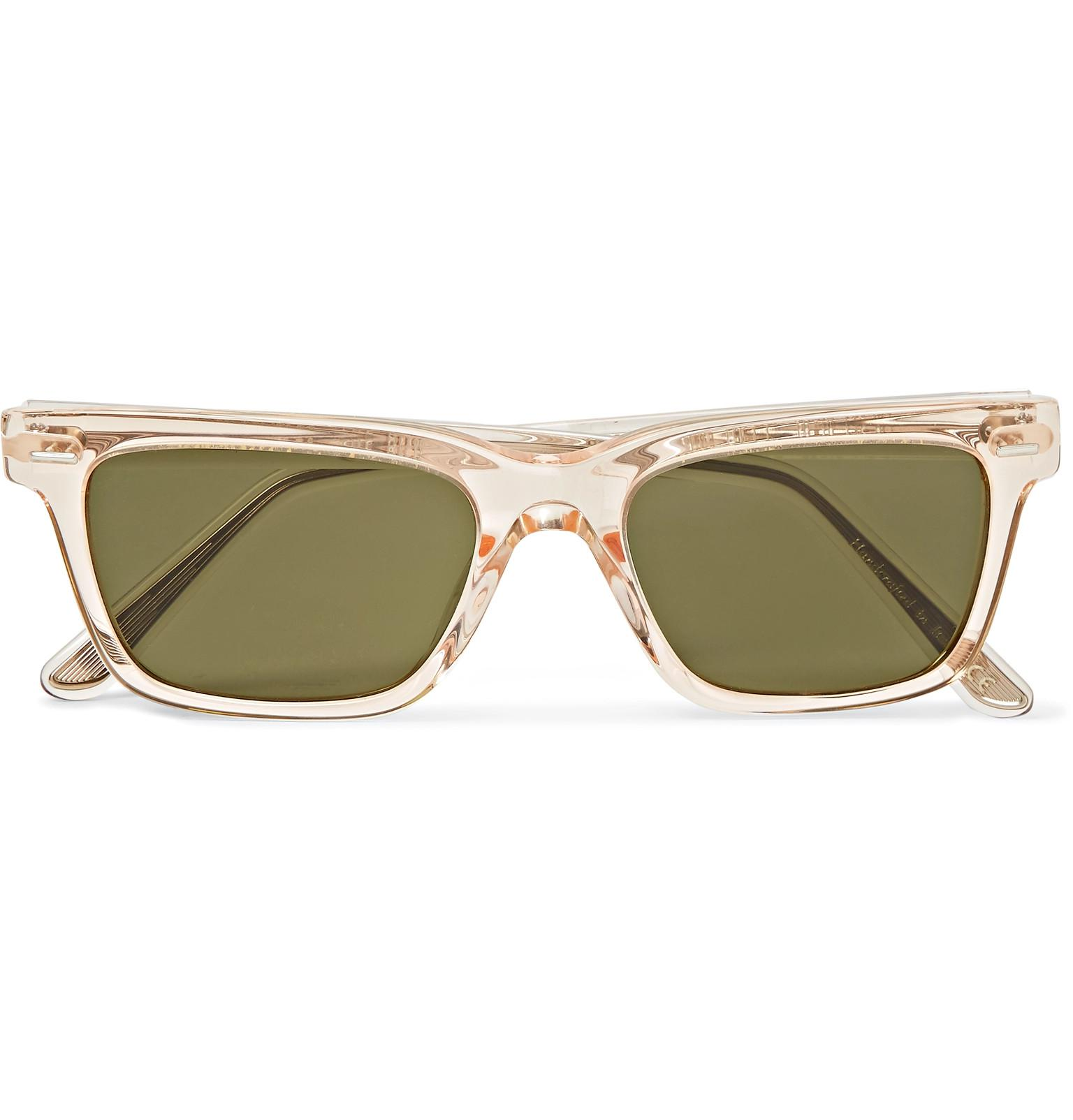 afe6ad63266b The Row. Men s + Oliver Peoples Ba Cc Square-frame Acetate Sunglasses