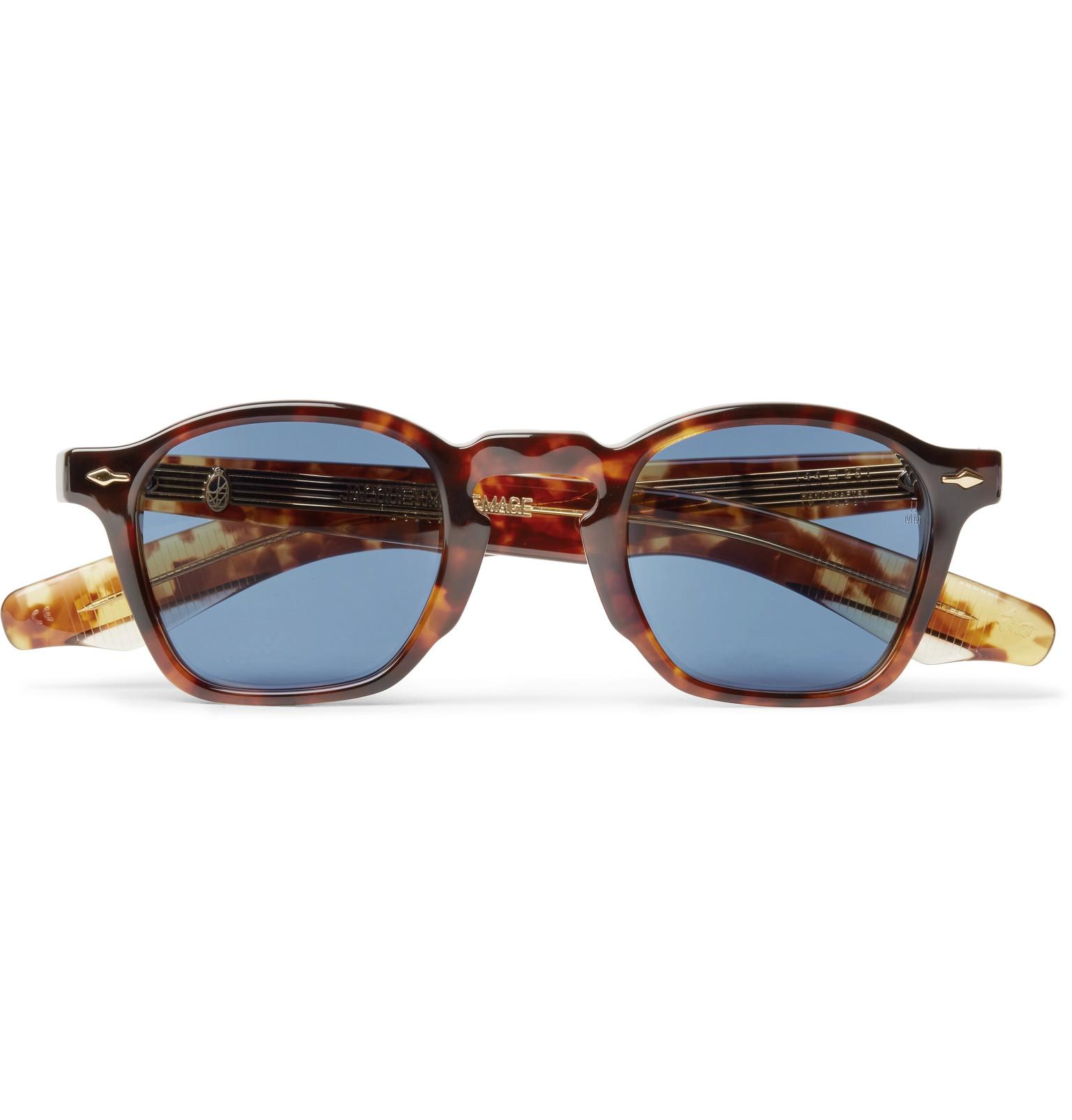Delean tortoiseshell acetate sunglasses Jacques Marie Mage