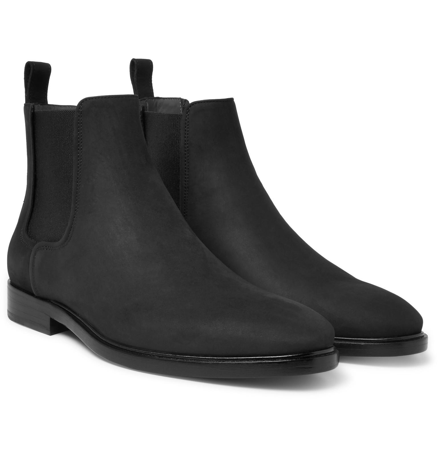 LanvinNubuck Chelsea Boots 110bAlr
