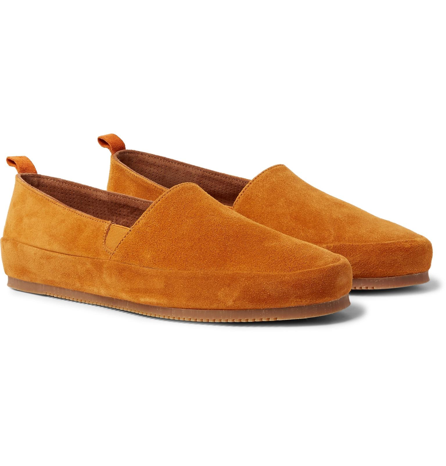 Suede Backless Loafers Mulo n6rpye