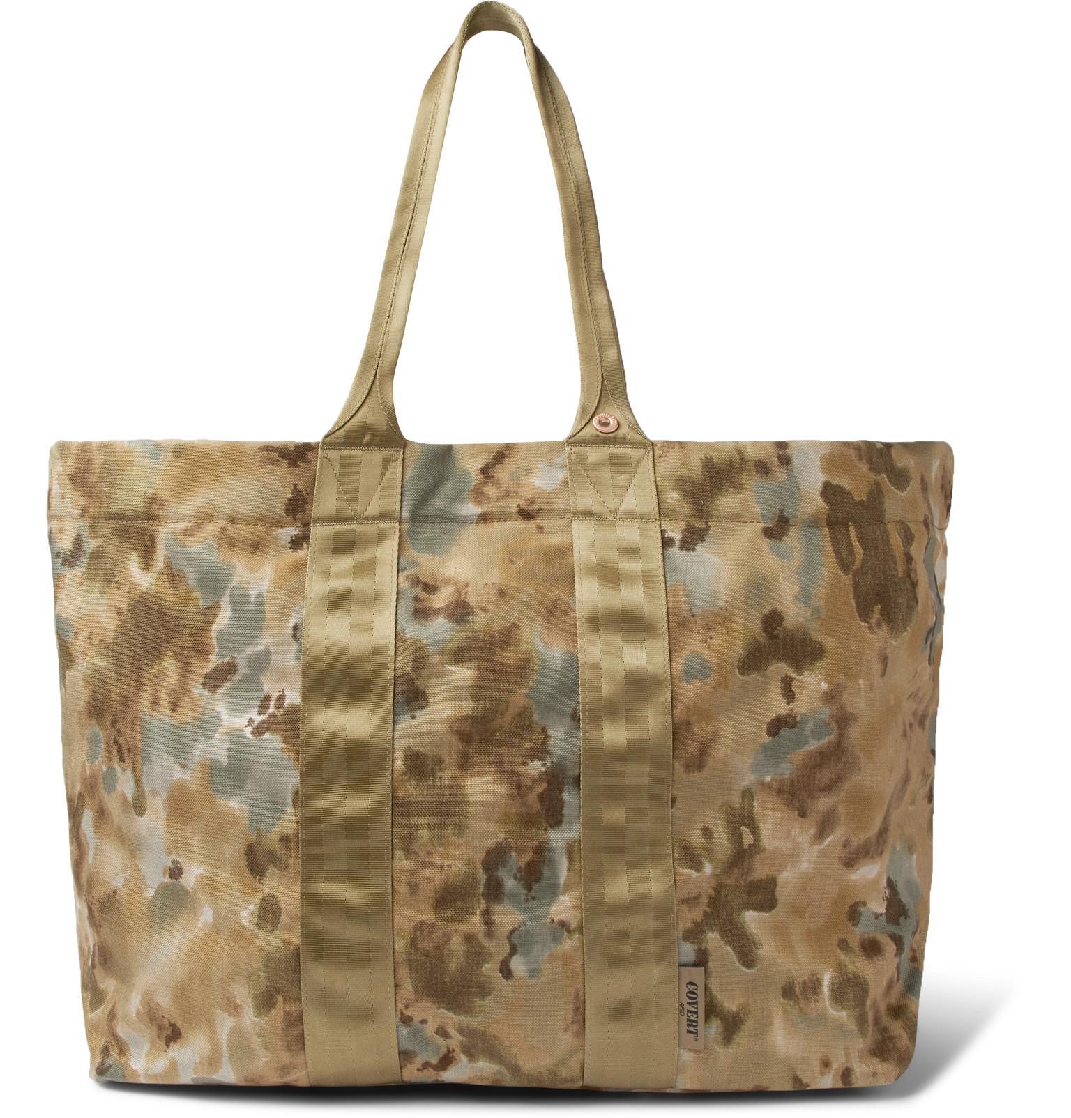 Herschel H-445 Camouflage Tuff Stuff Tote Bag - Green 2uoklKSZ