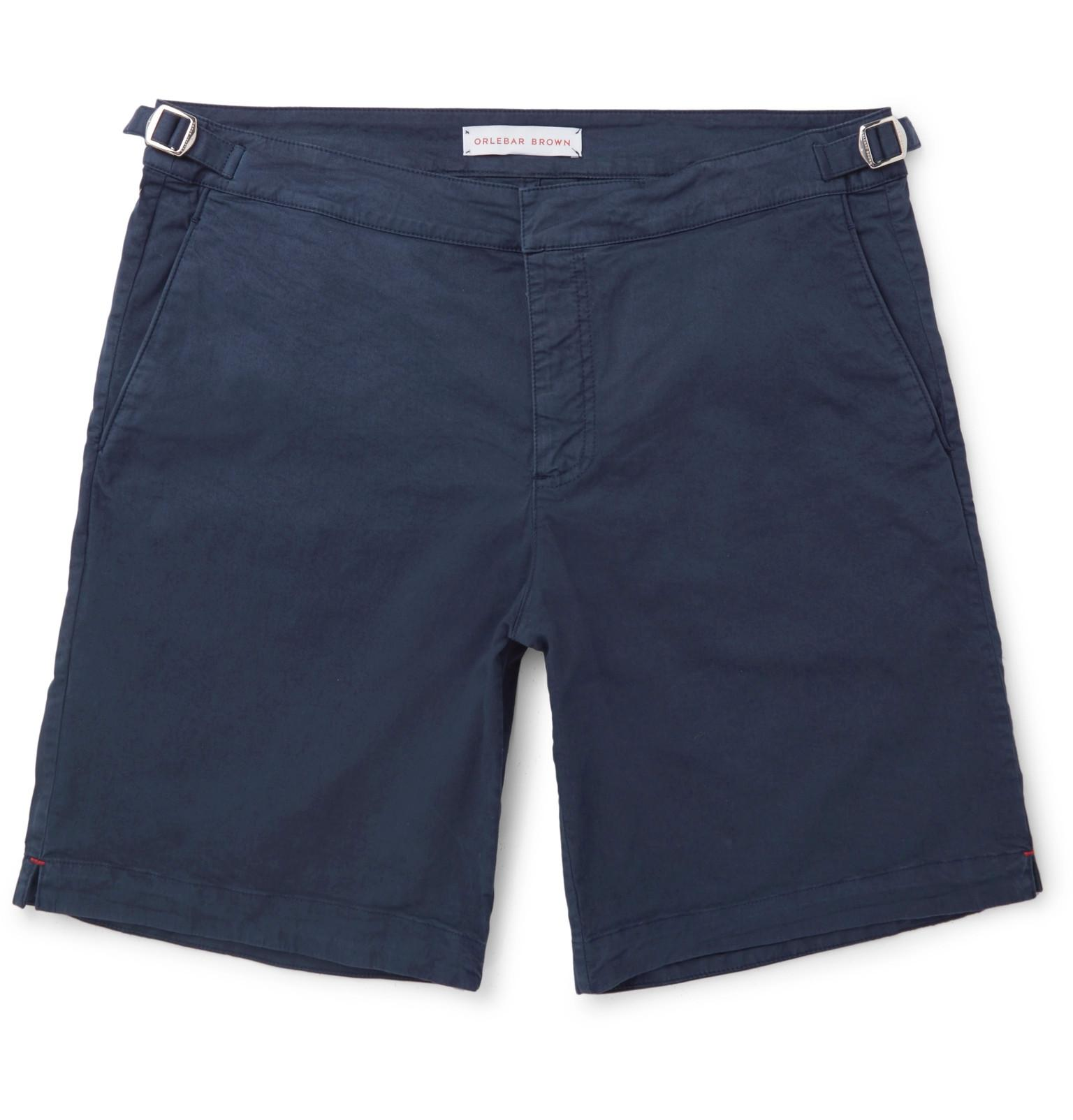 Dane Stretch Cotton-blend Twill Shorts Orlebar Brown Geniue Stockist Cheap Price Fast Delivery For Sale cqBstjIB