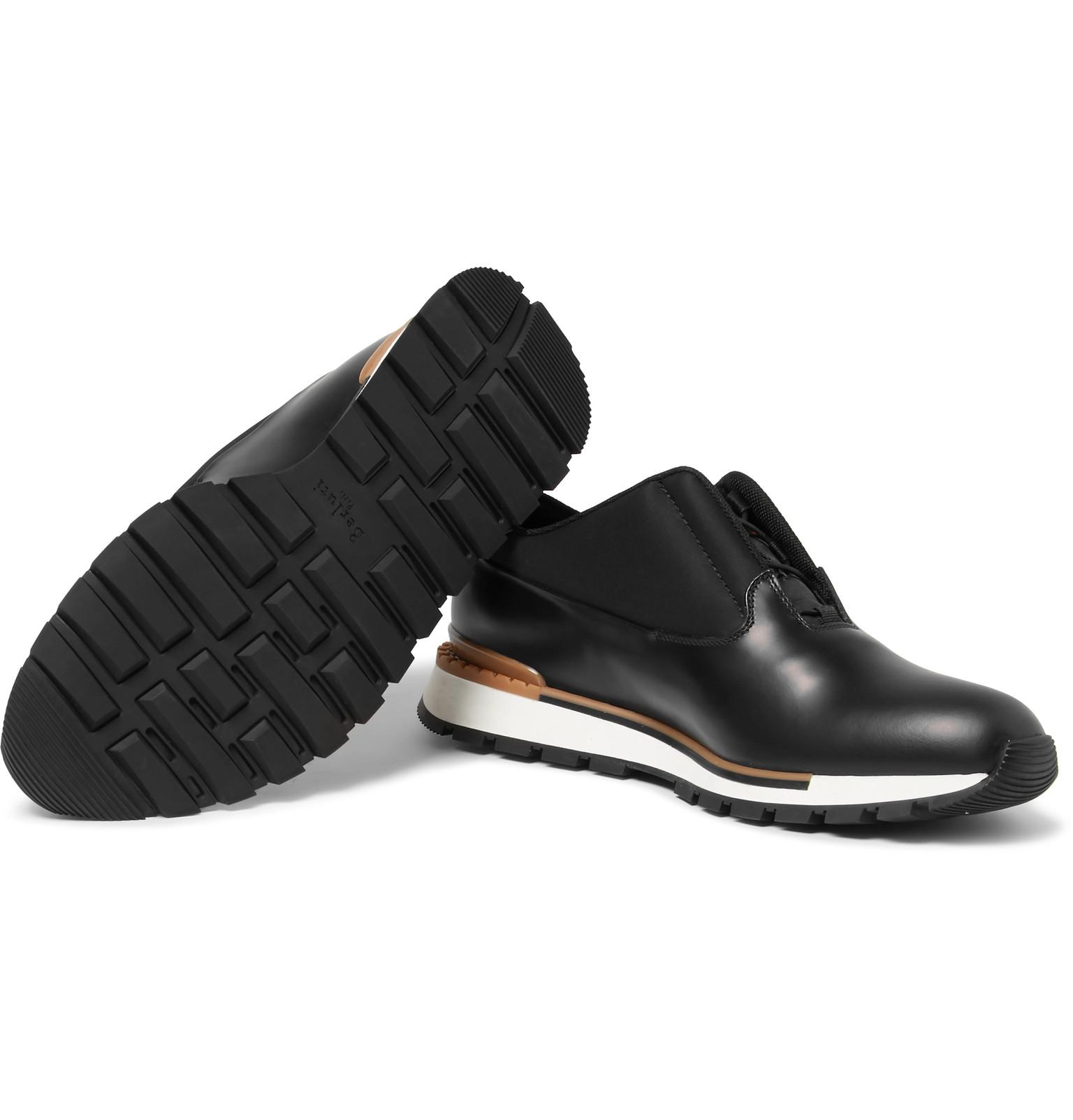 41b9b3fdec25a berluti-black-Fast-Track-Tornio-Leather-And-Shell-Sneakers.jpeg