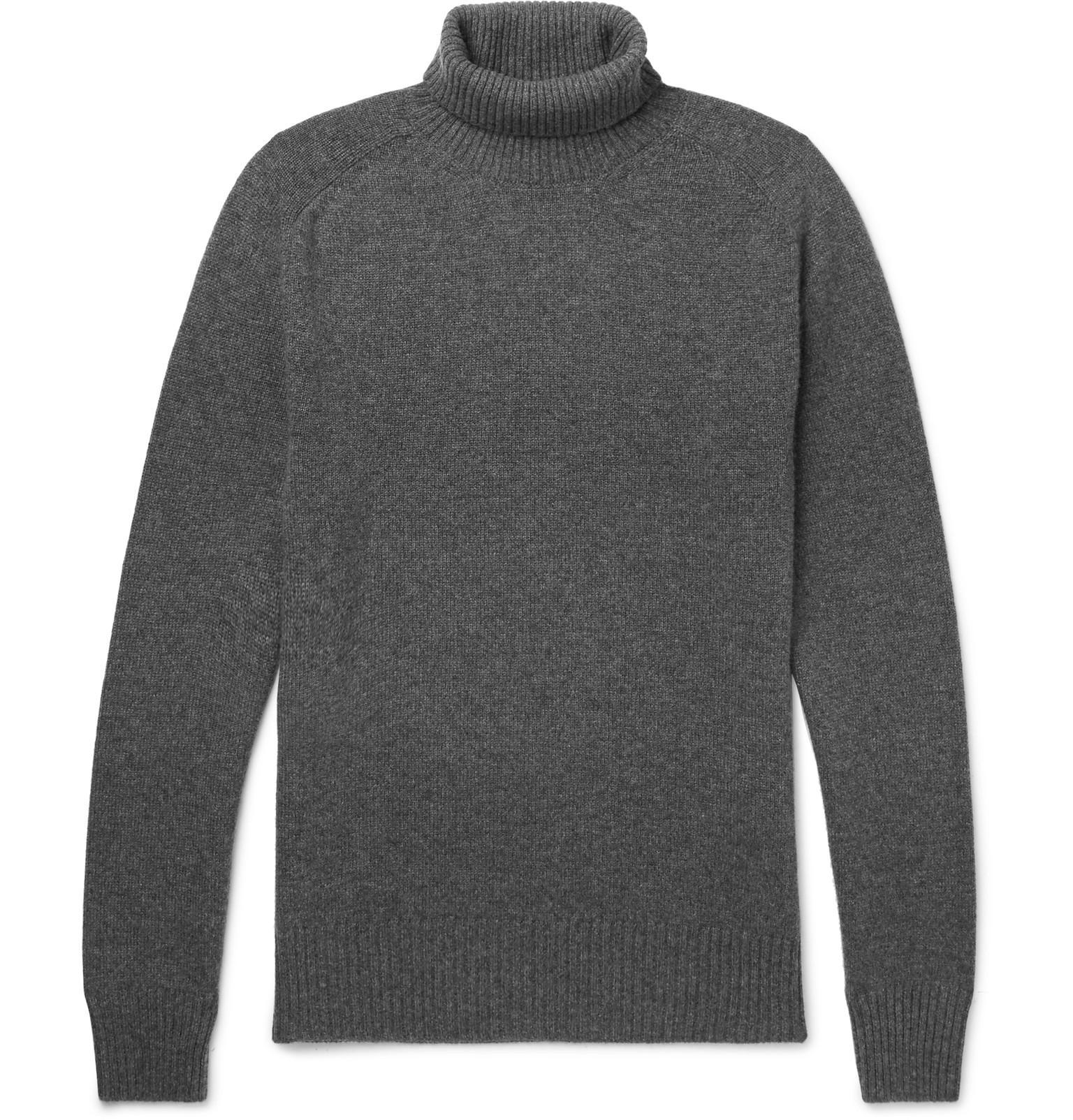 Footlocker Pictures Cheap Online Cheap Classic Mélange Cashmere Rollneck Sweater Tomas Maier vCSPv7W