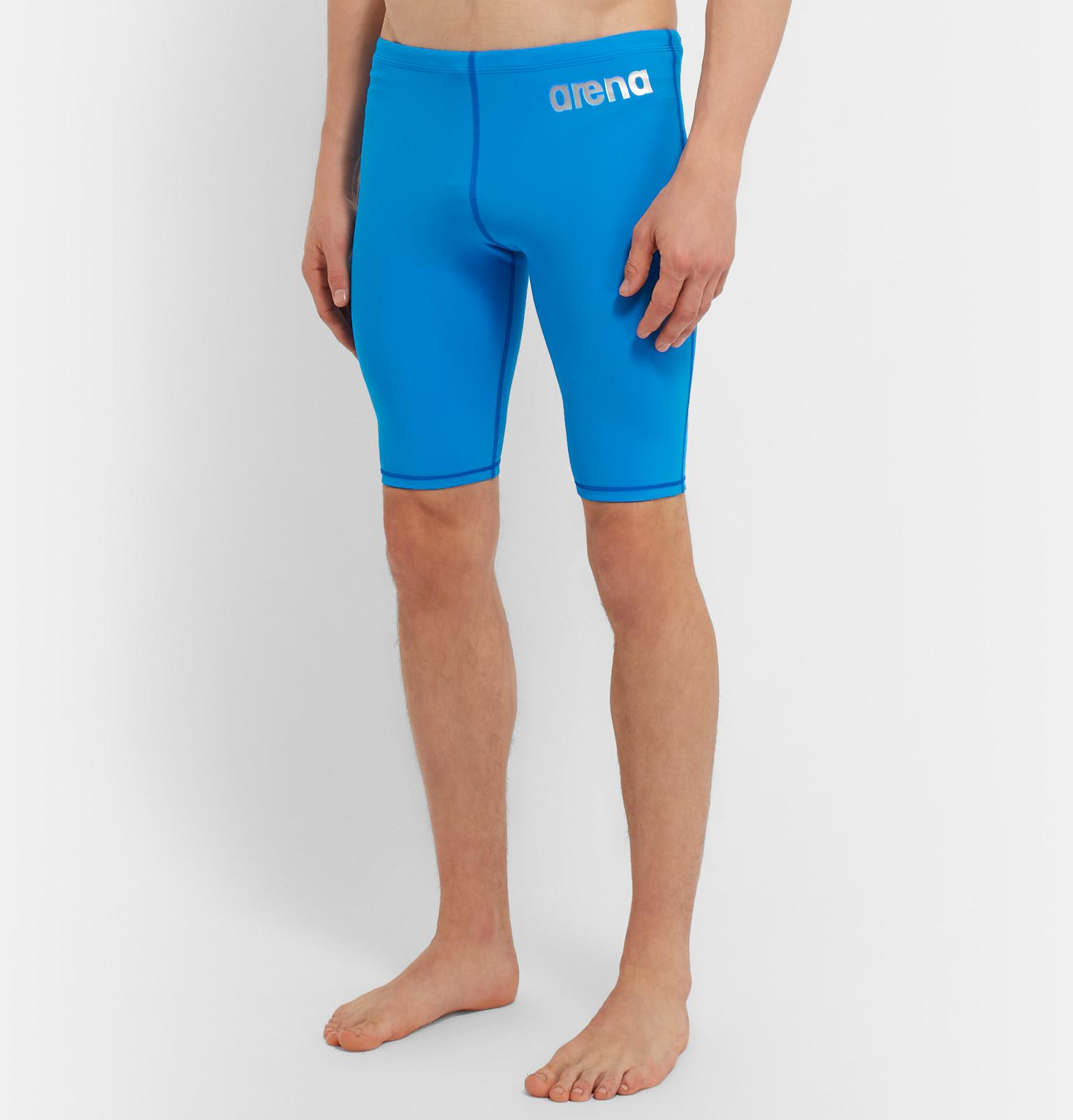 5607396ffe6f3 Arena Powerskin St Compression Swim Jammers in Blue for Men - Lyst