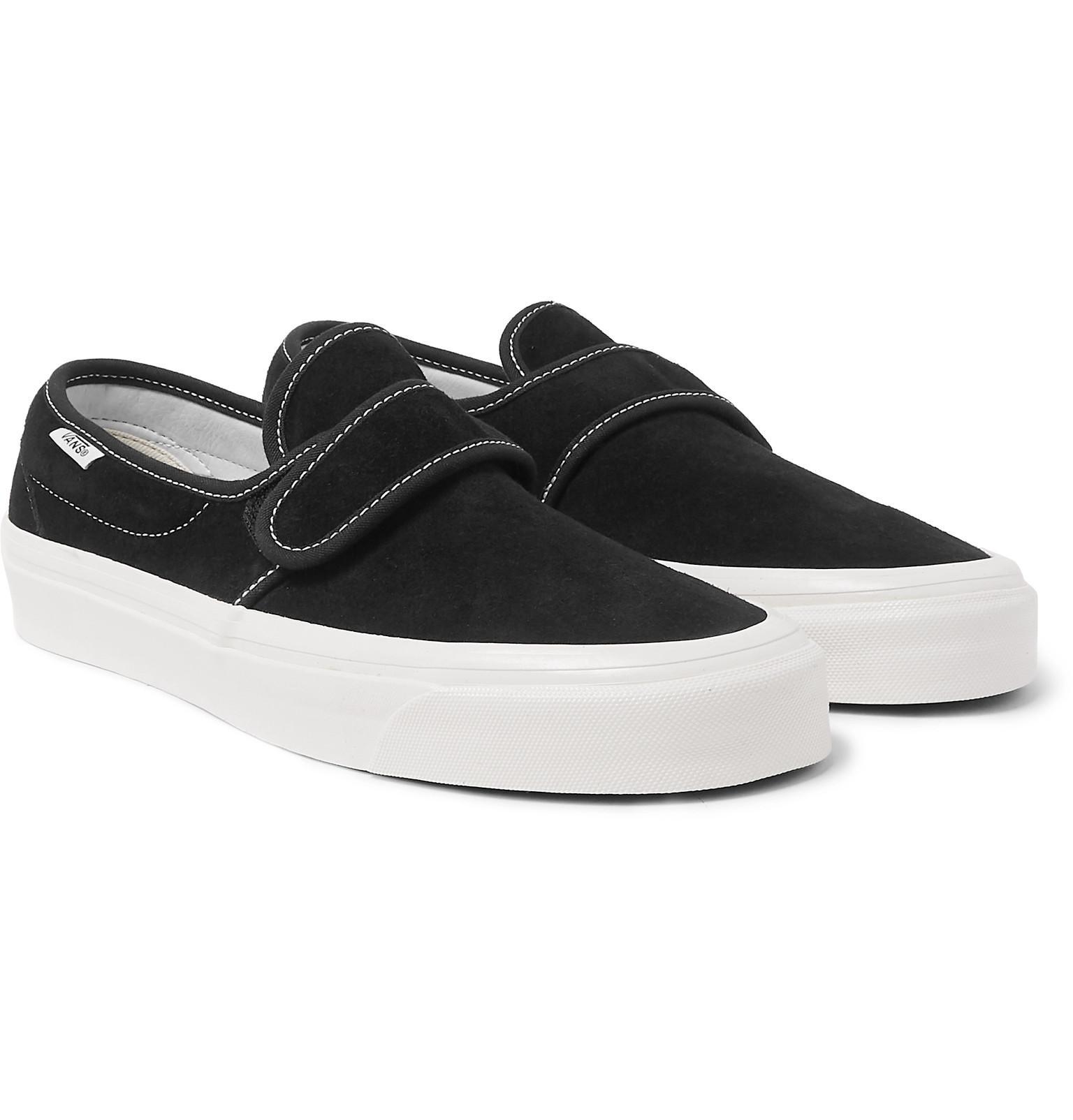 509f2818c95 Lyst - Vans Anaheim 47 V Dx Suede Sneakers in Black for Men