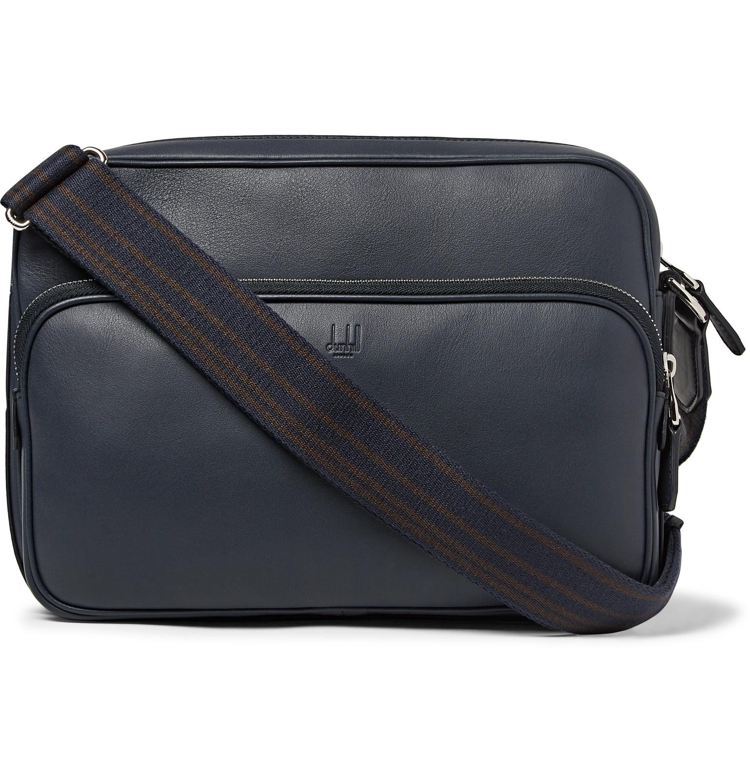 Lyst Bag Hampstead Blue City Messenger In Leather Dunhill Men For rr0Zn6