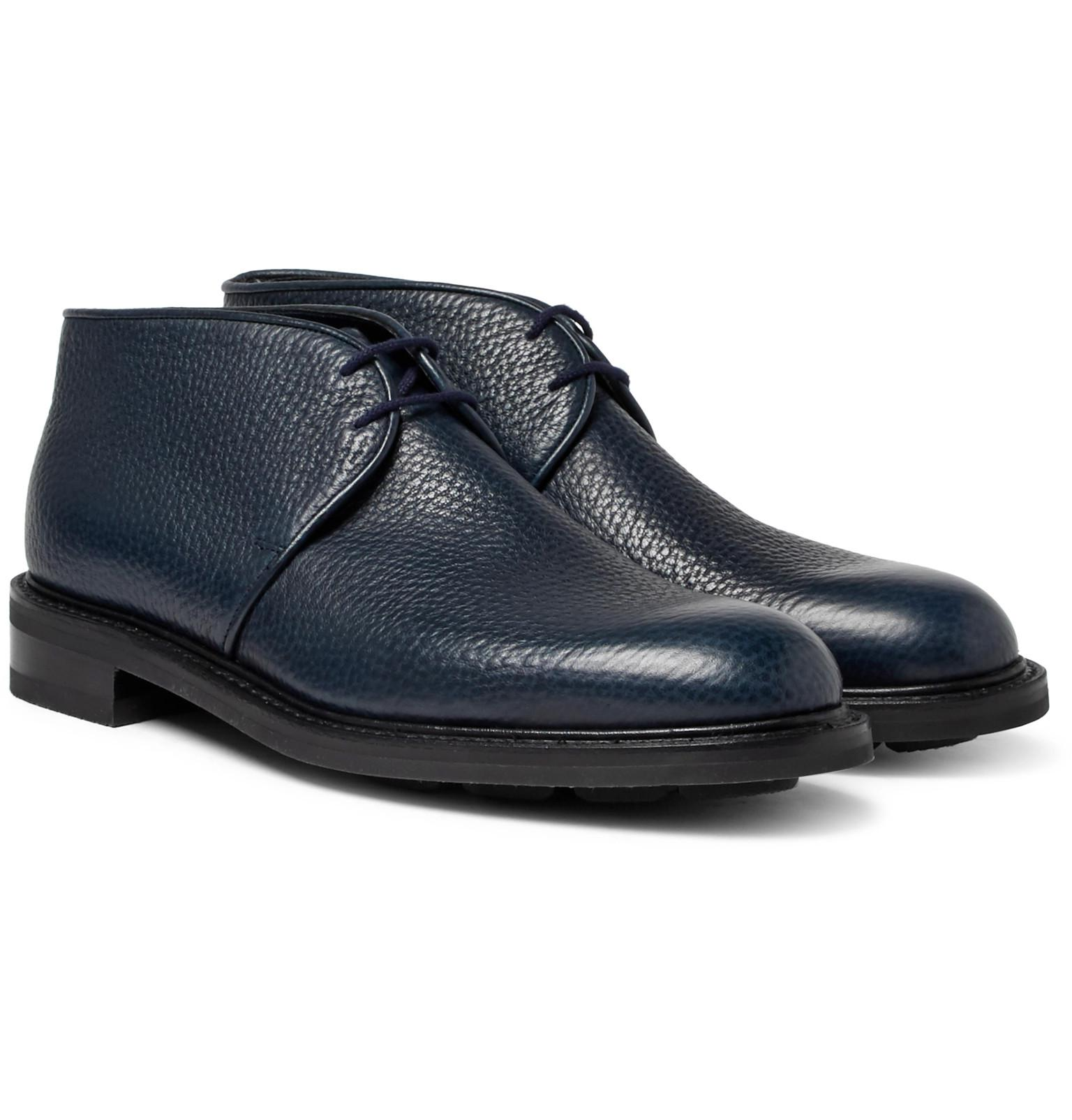 John Lobb Grove Full-Grain Leather Chukka Boots cheap store buy online good selling sale online free shipping official fake sale online LBoCff30r