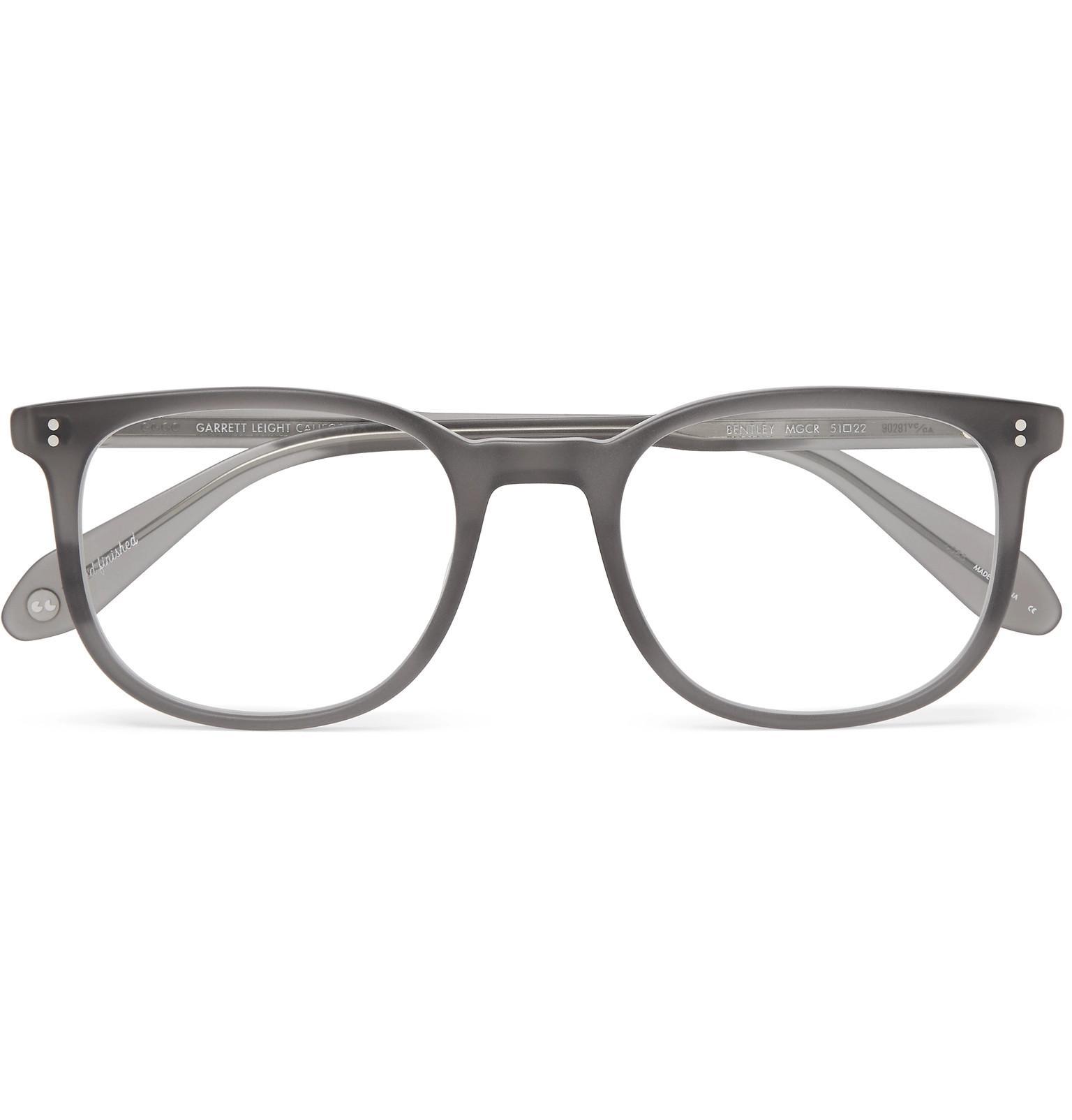 d7d504629b48 ... Gray Bentley 51 Square-frame Matte-acetate Optical Glasses for Men.  View fullscreen