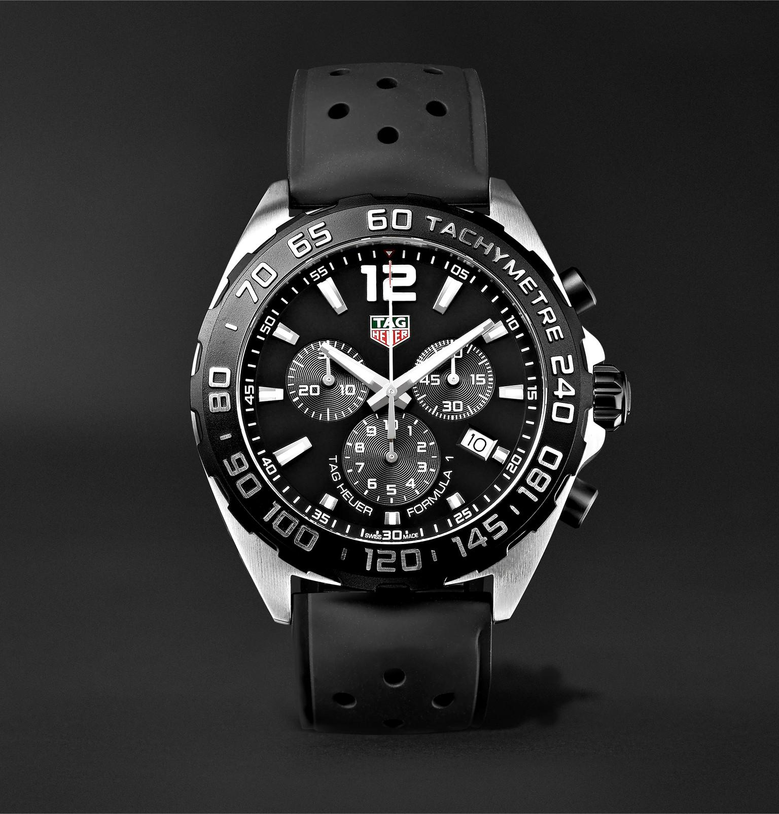 Tag Heuer Formula 1 Chronograph 43mm Stainless Steel And