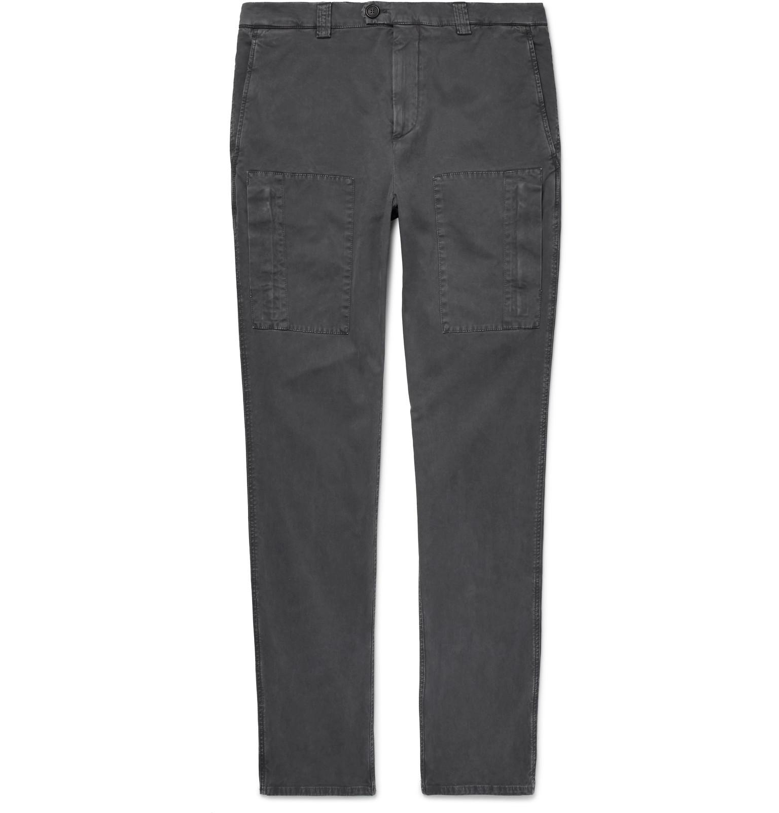 Slim-fit Stretch-cotton Corduroy Trousers Brunello Cucinelli jOKJu6P3S