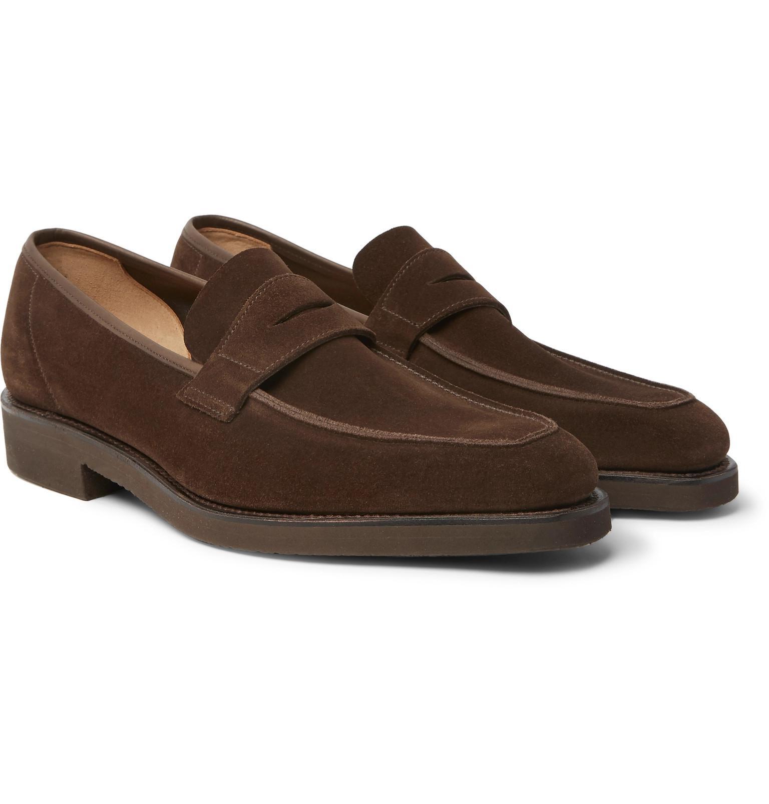 Professionnel Vente Réduction Authentique Thomas Suede Monk-strap Shoes - BrownGeorge Cleverley Le Meilleur Magasin Pour Obtenir Sortie D'usine De Sortie y9pINXdI