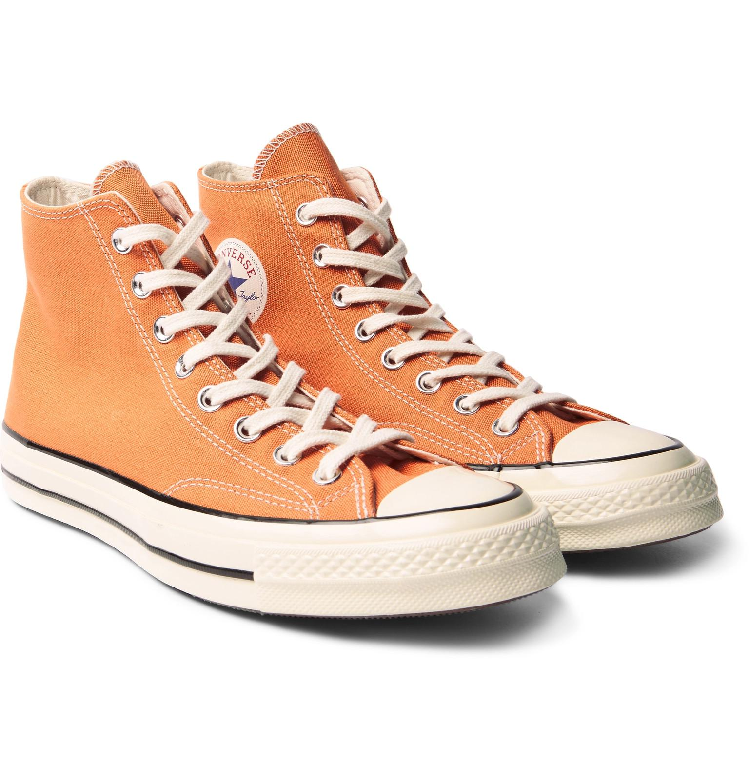 17727c1d3ec15f Lyst - Converse 1970s Chuck Taylor All Stars Canvas High-top ...