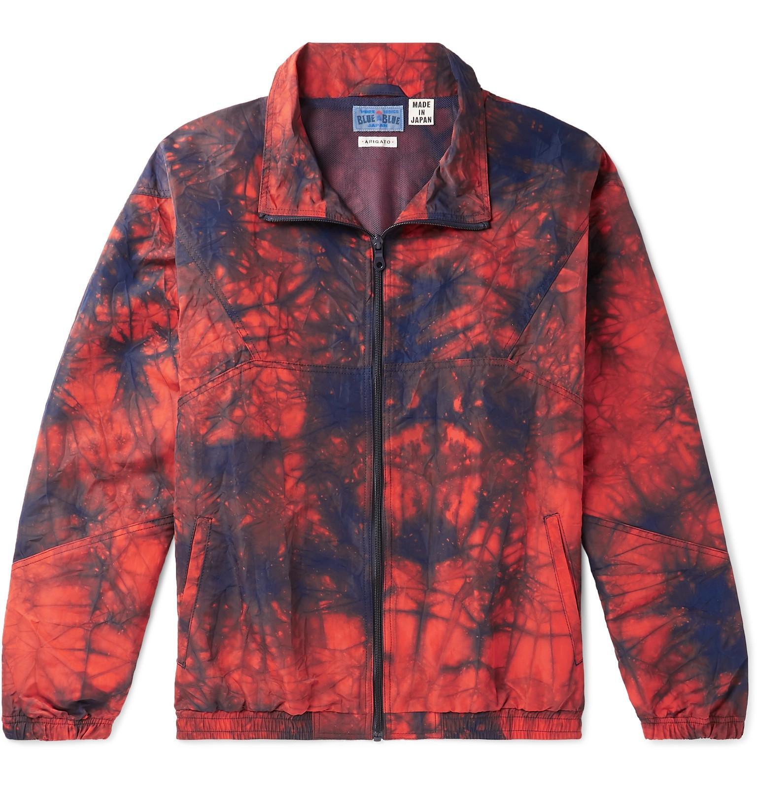 26751091c Lyst - Blue Blue Japan Tie-dyed Nylon Jacket in Orange for Men