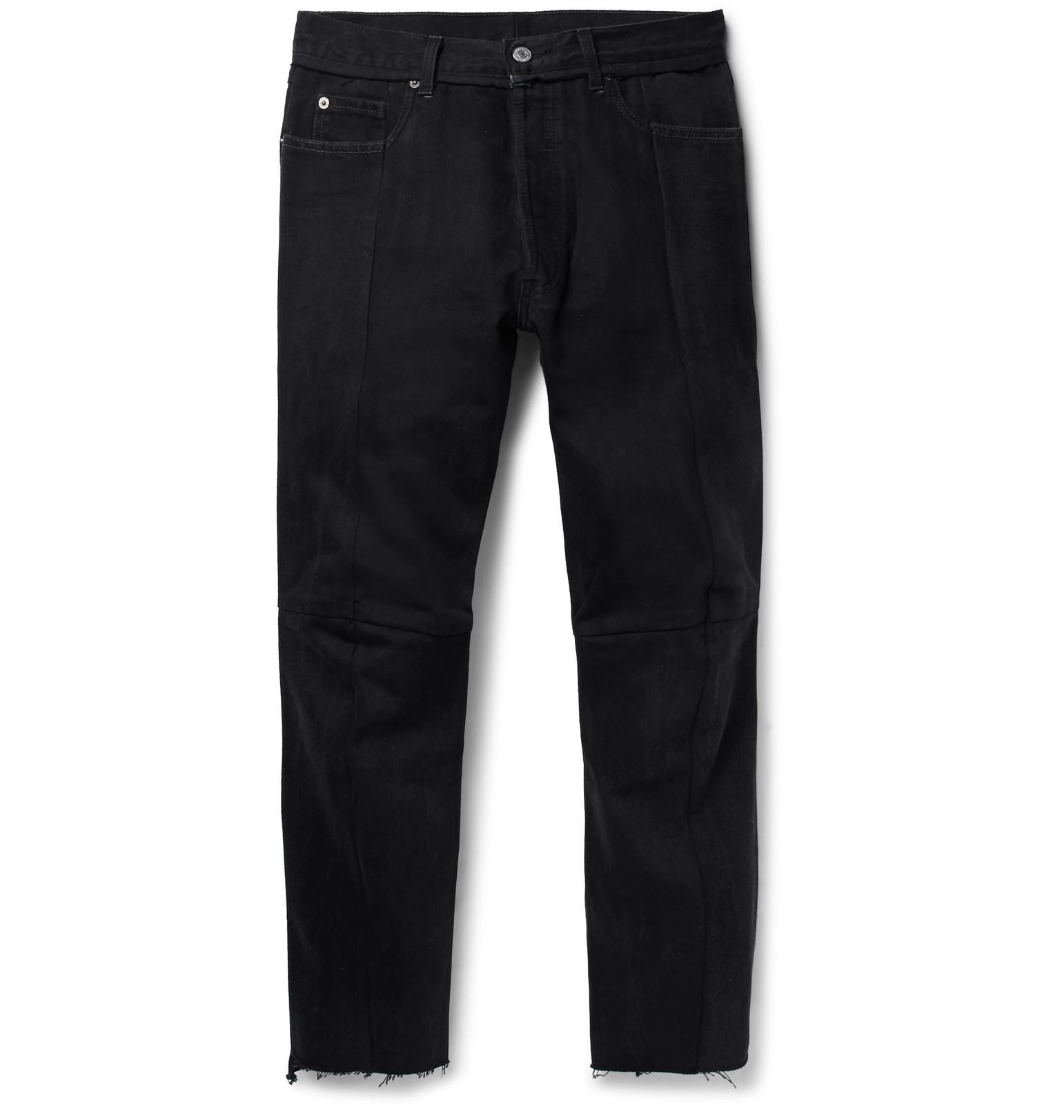 + Levis 501 Slim-fit Panelled Denim Jeans VETEMENTS Aw3PJcXCM