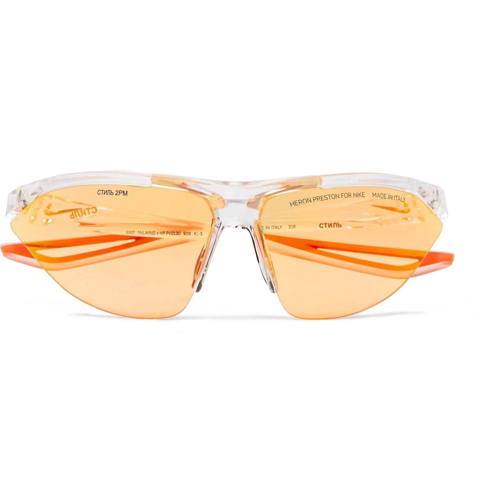 0dd7589a96 Lyst - Heron Preston + Nike Tailwind Polycarbonate Sunglasses With ...
