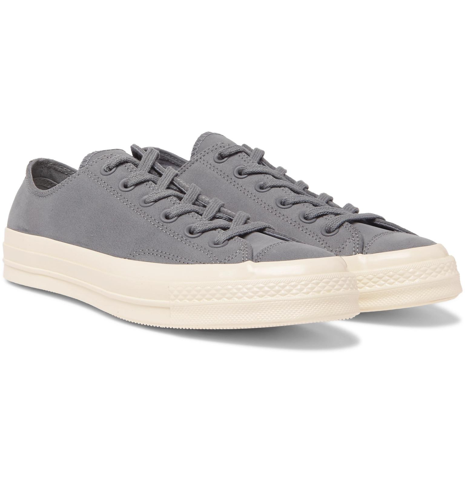 70 Chuck Men Nubuck Converse for Lyst Gray Sneakers in 5Uzxwg