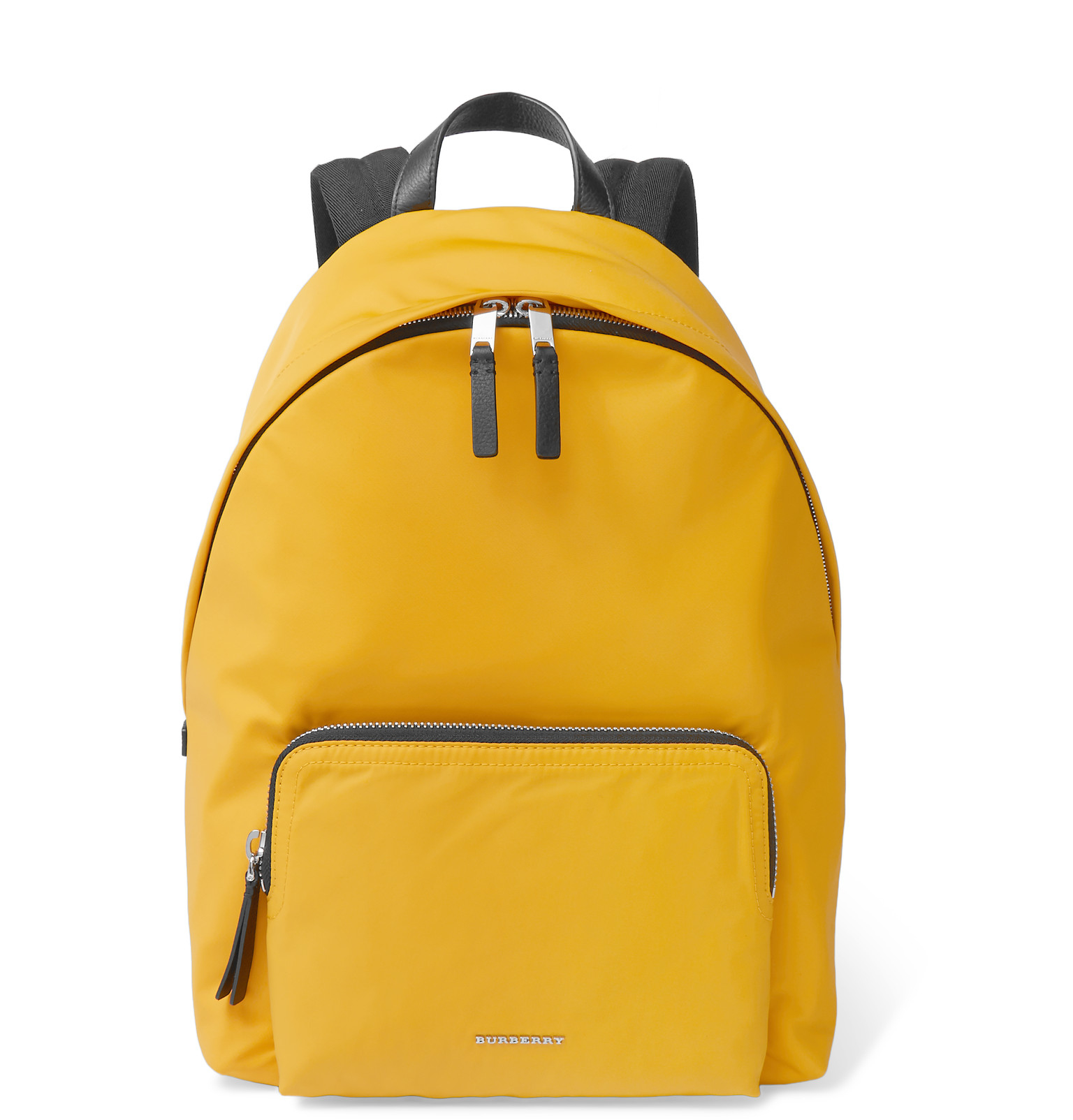 391199a69def Burberry London Canvas Backpack in Yellow for Men - Lyst