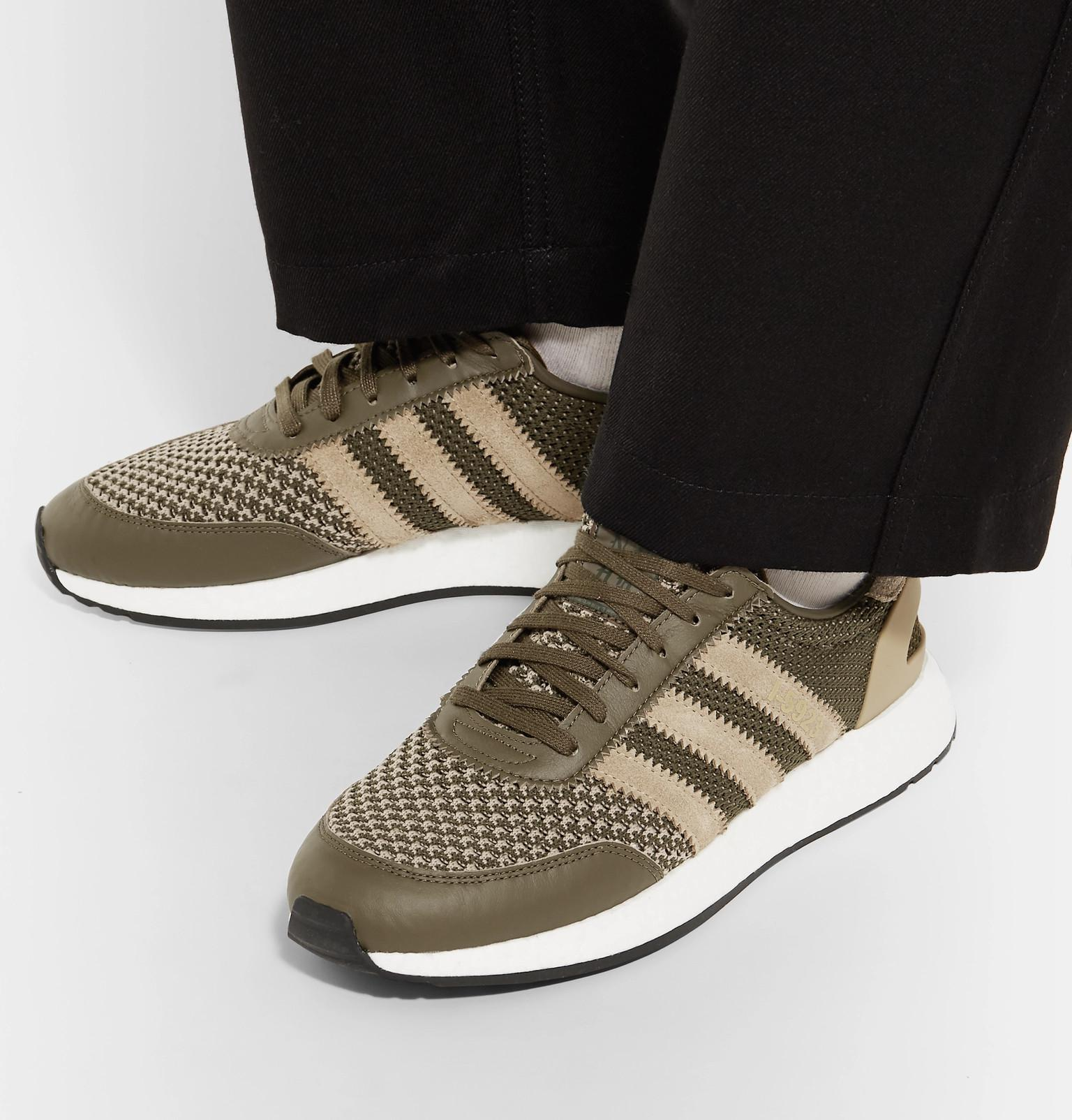 bc8d957c690f adidas Originals + Neighborhood I-5923 Suede And Leather-trimmed ...
