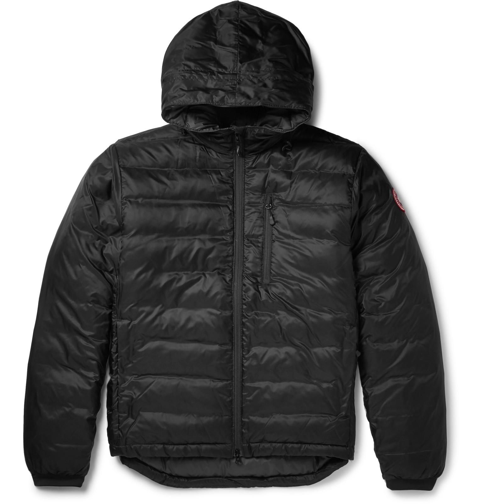 Lodge Packable Quilted Ripstop Shell Hooded Down Jacket