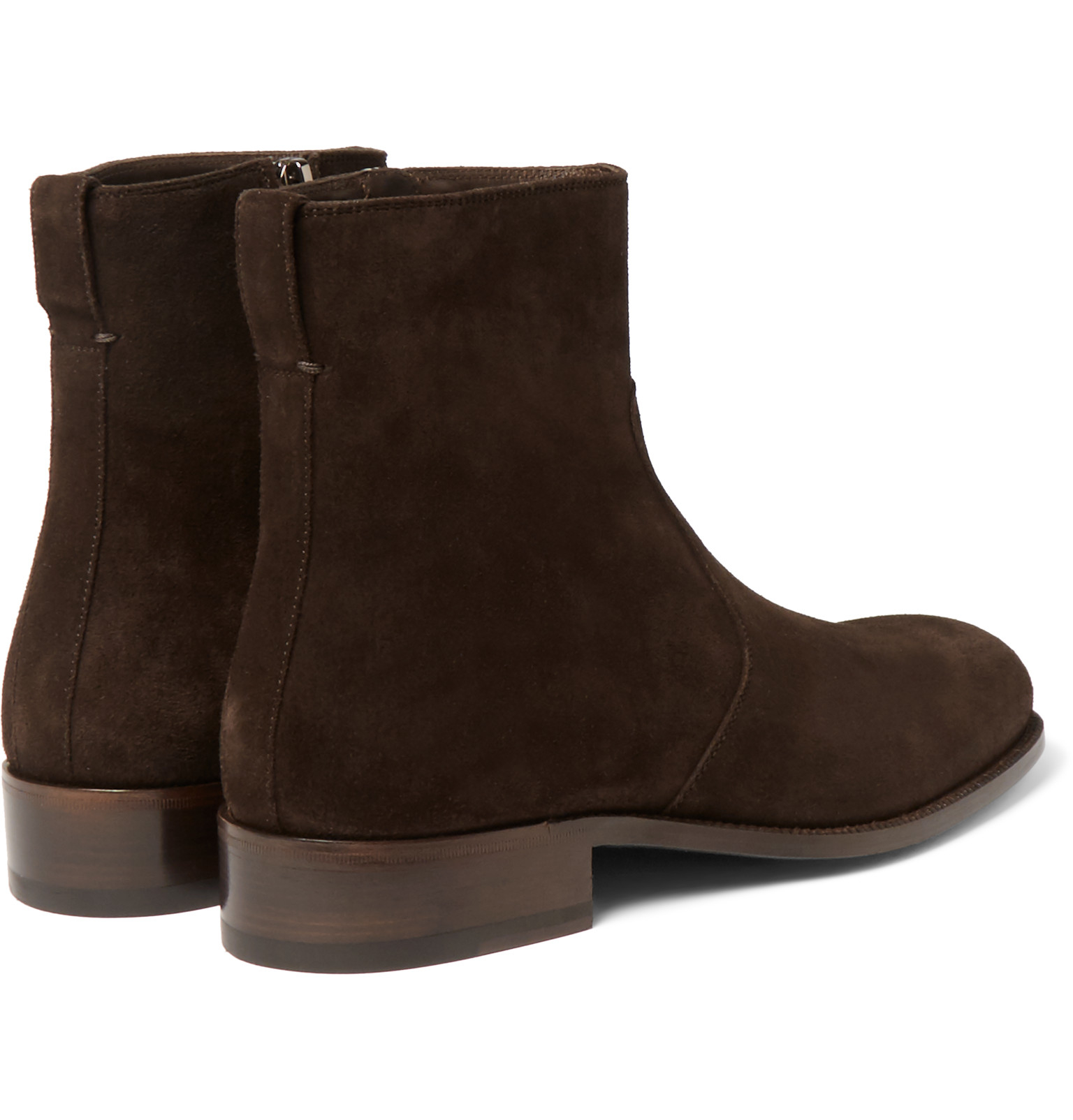 tom ford wilson suede boots in brown for lyst