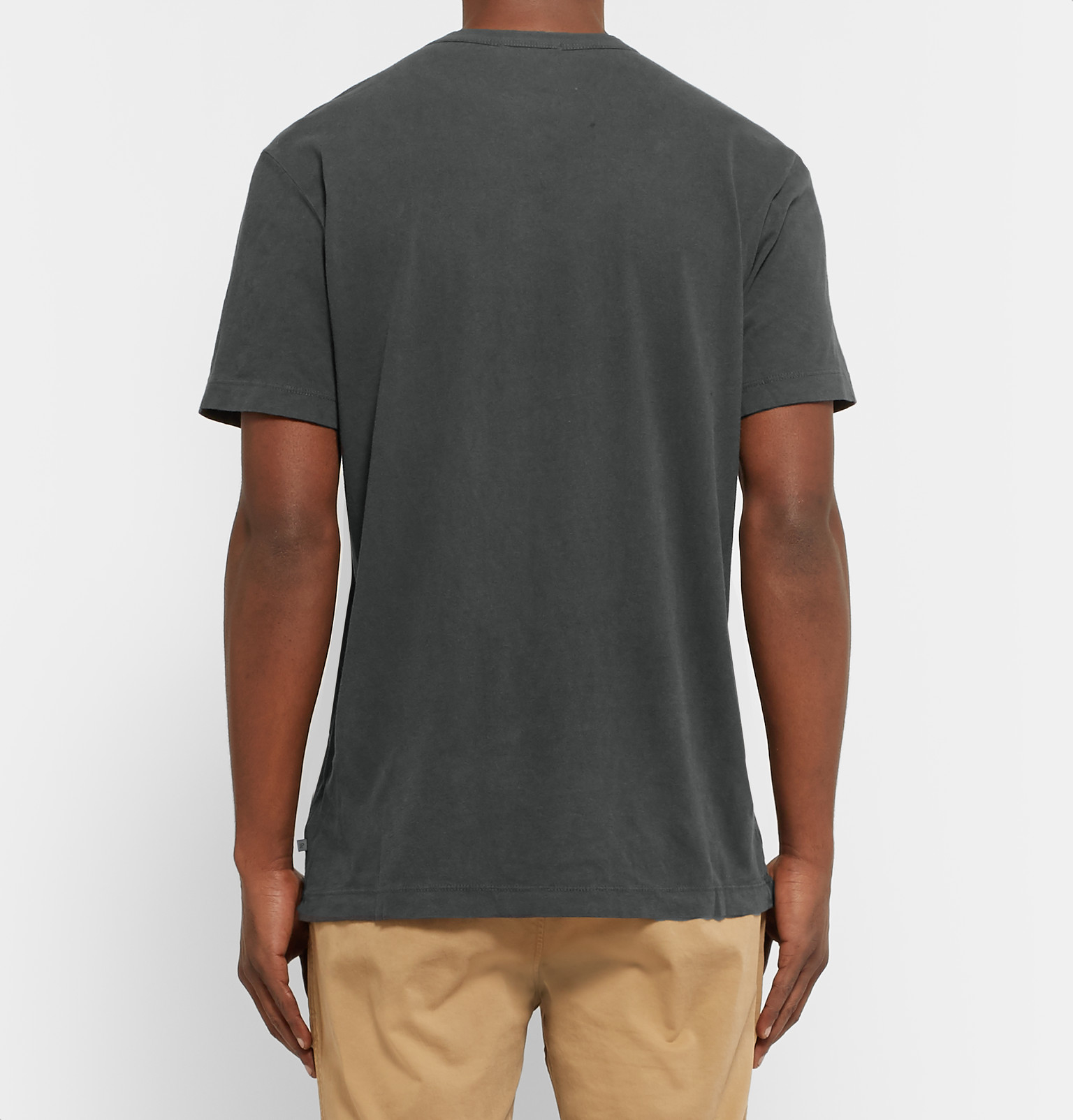 james perse cotton jersey t shirt for men lyst
