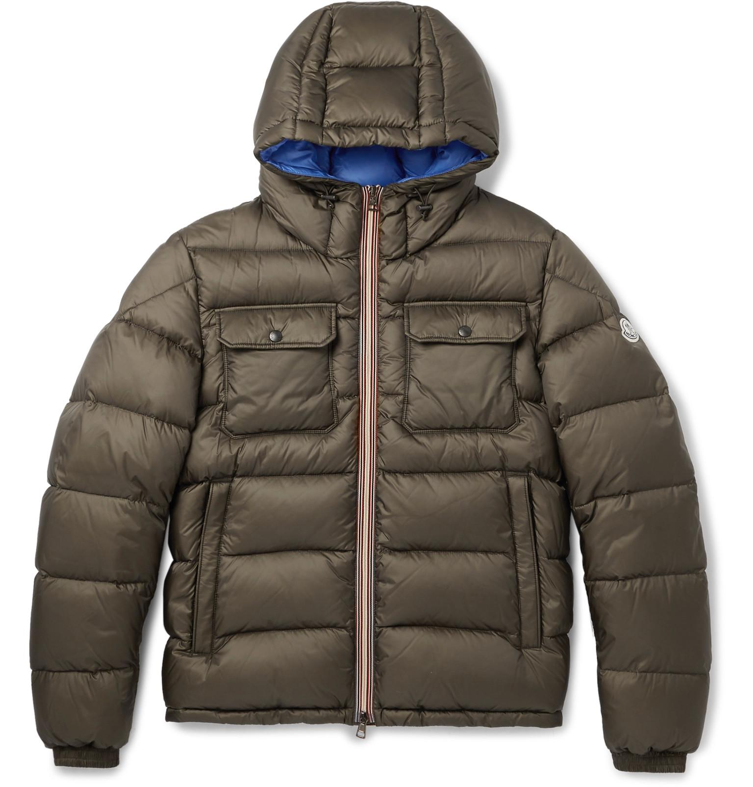 moncler army green