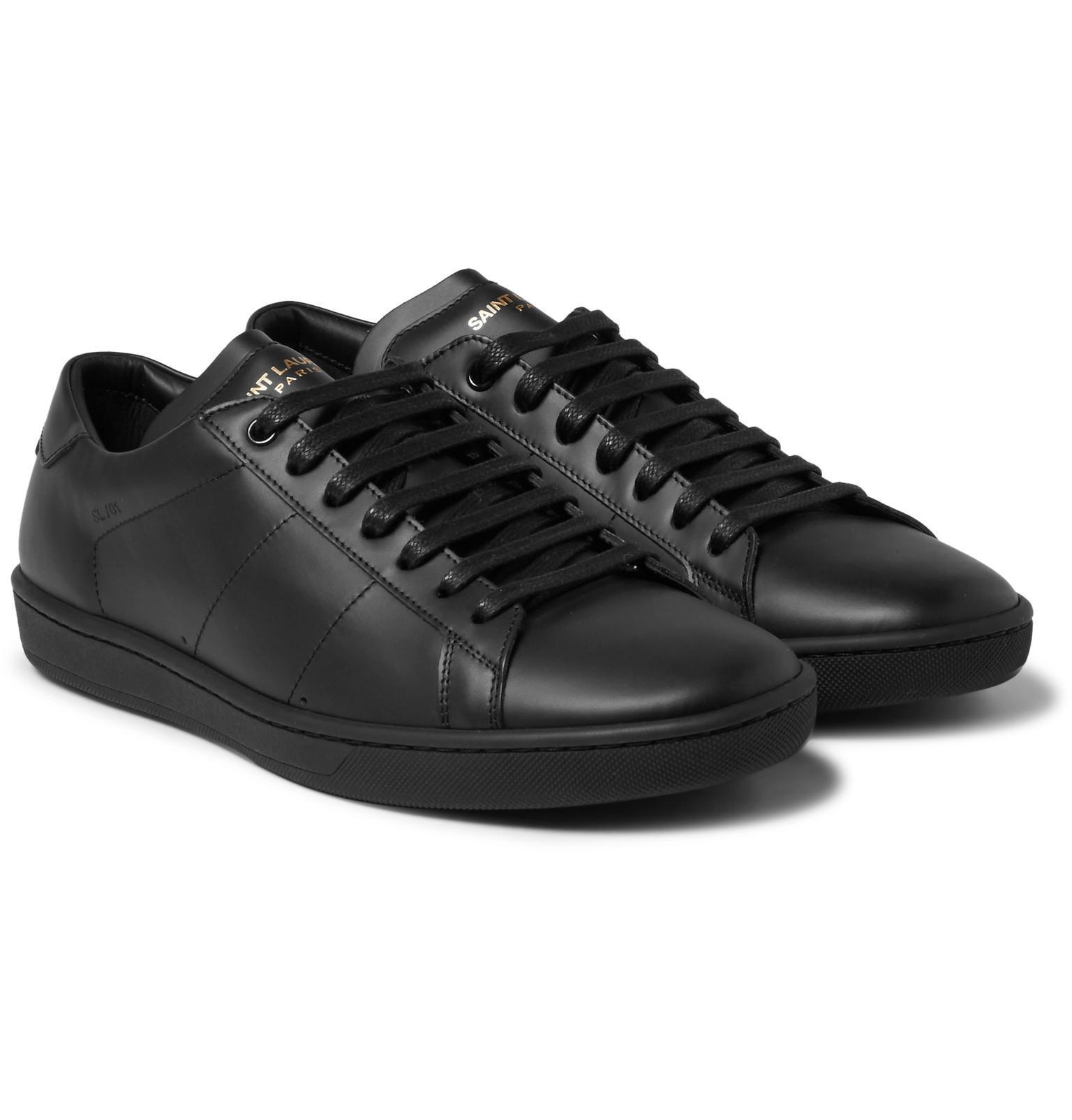 Discount Best Sale Black SL/01 Court Classic Sneakers Saint Laurent Cheap Sale Comfortable Big Discount Sale Online For Sale Official Site Wiki Cheap Price 4trkZSsH