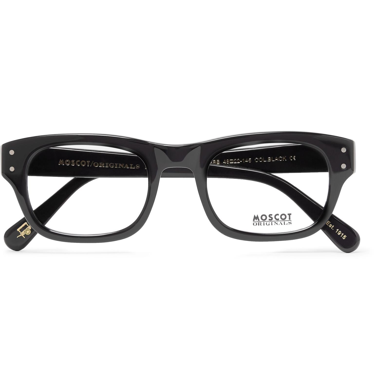 In Glasses Lyst For Men Square Black Acetate Optical Moscot Frame Nebb nYqwpxT