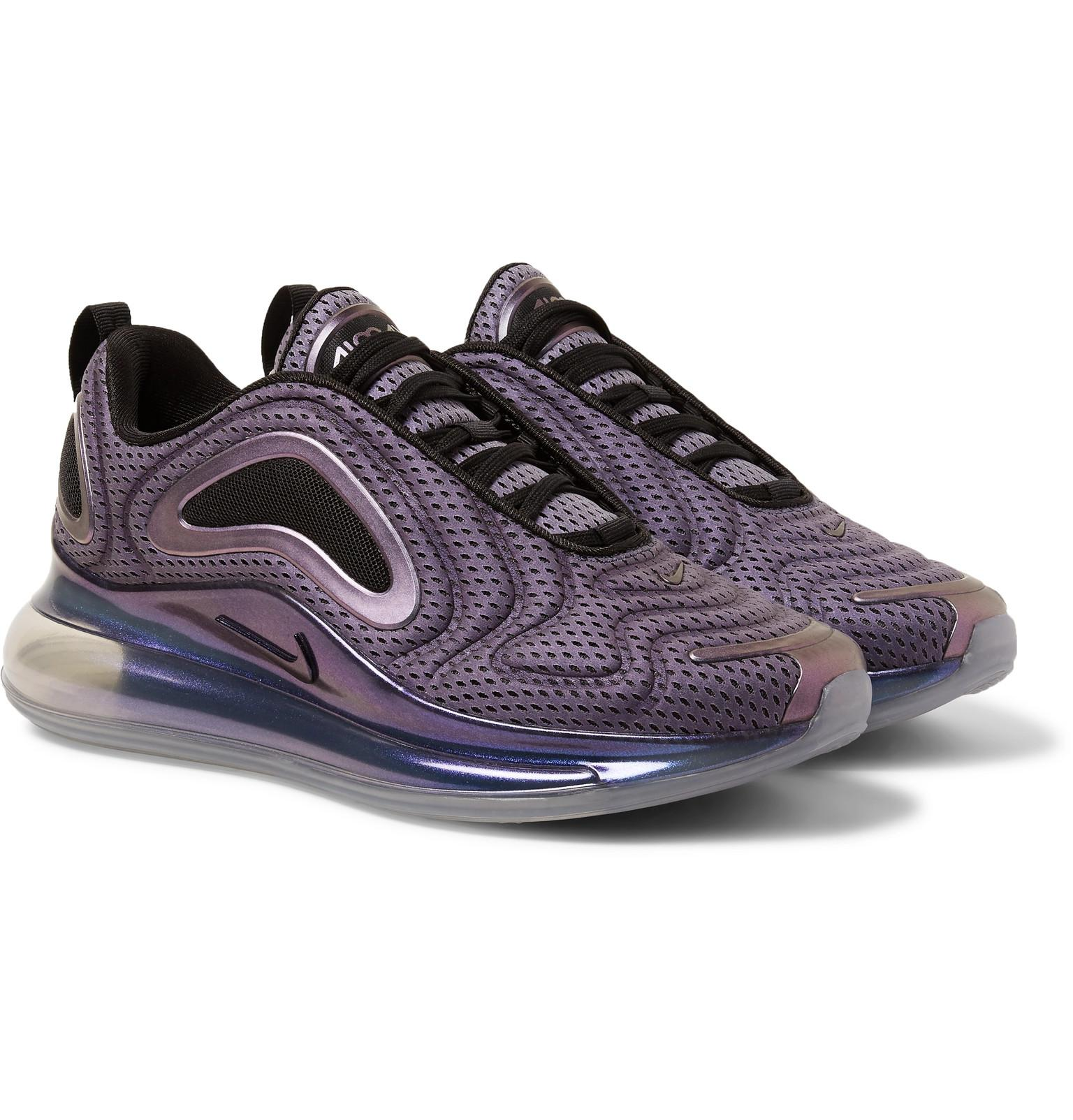 buy online 2f0ff e5a72 Nike Air Max 720 Aurora Borealis Mesh Sneakers in Purple for Men - Lyst