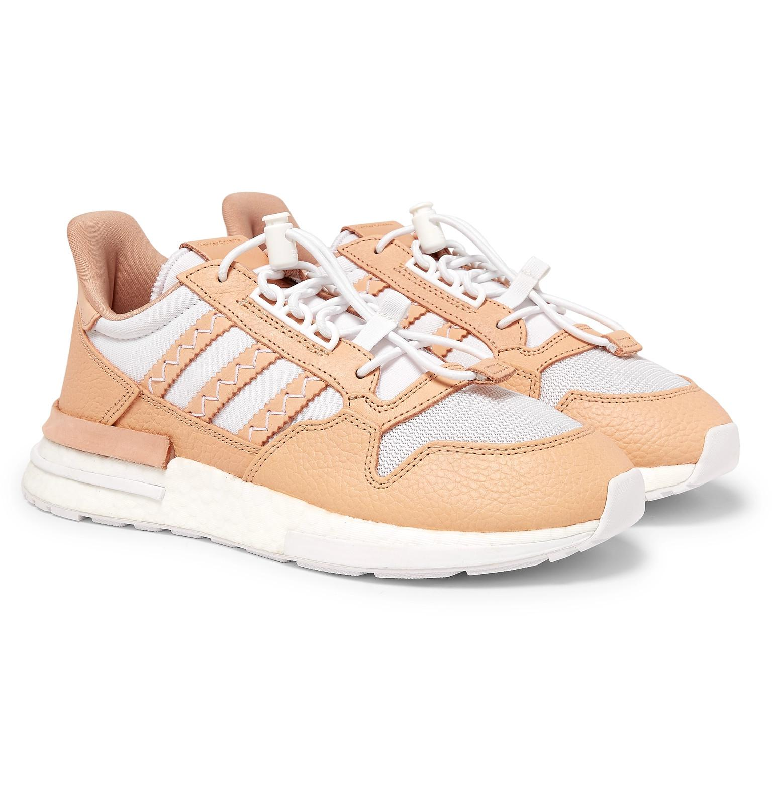 ff816f16a5b6 adidas Originals. Men s White Hender Scheme Zx 500 Rm Mt Leather And ...
