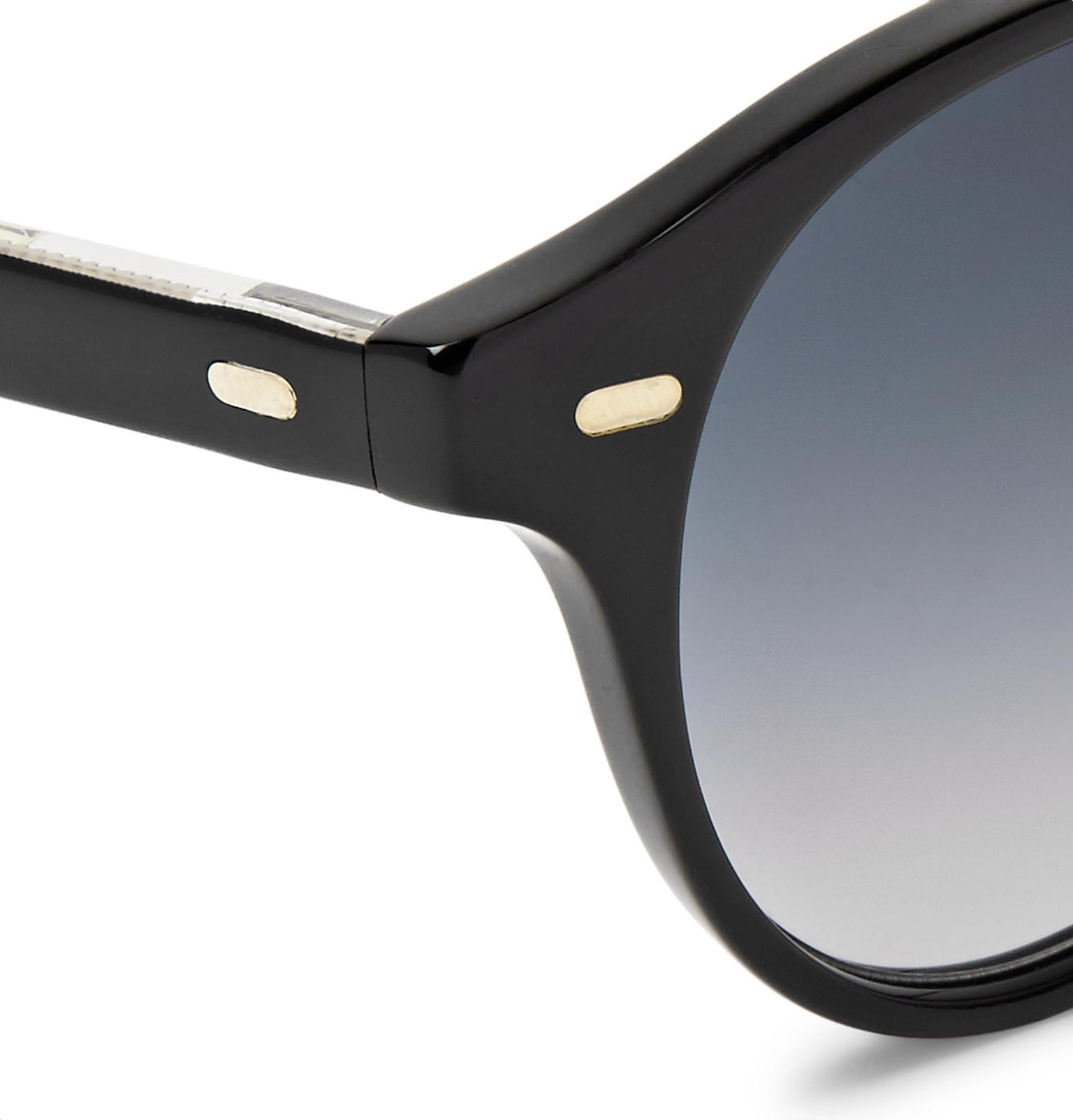 Lyst Men Gross Round Acetate Sunglasses Frame Cutleramp; For In Black ONwXn08Pk