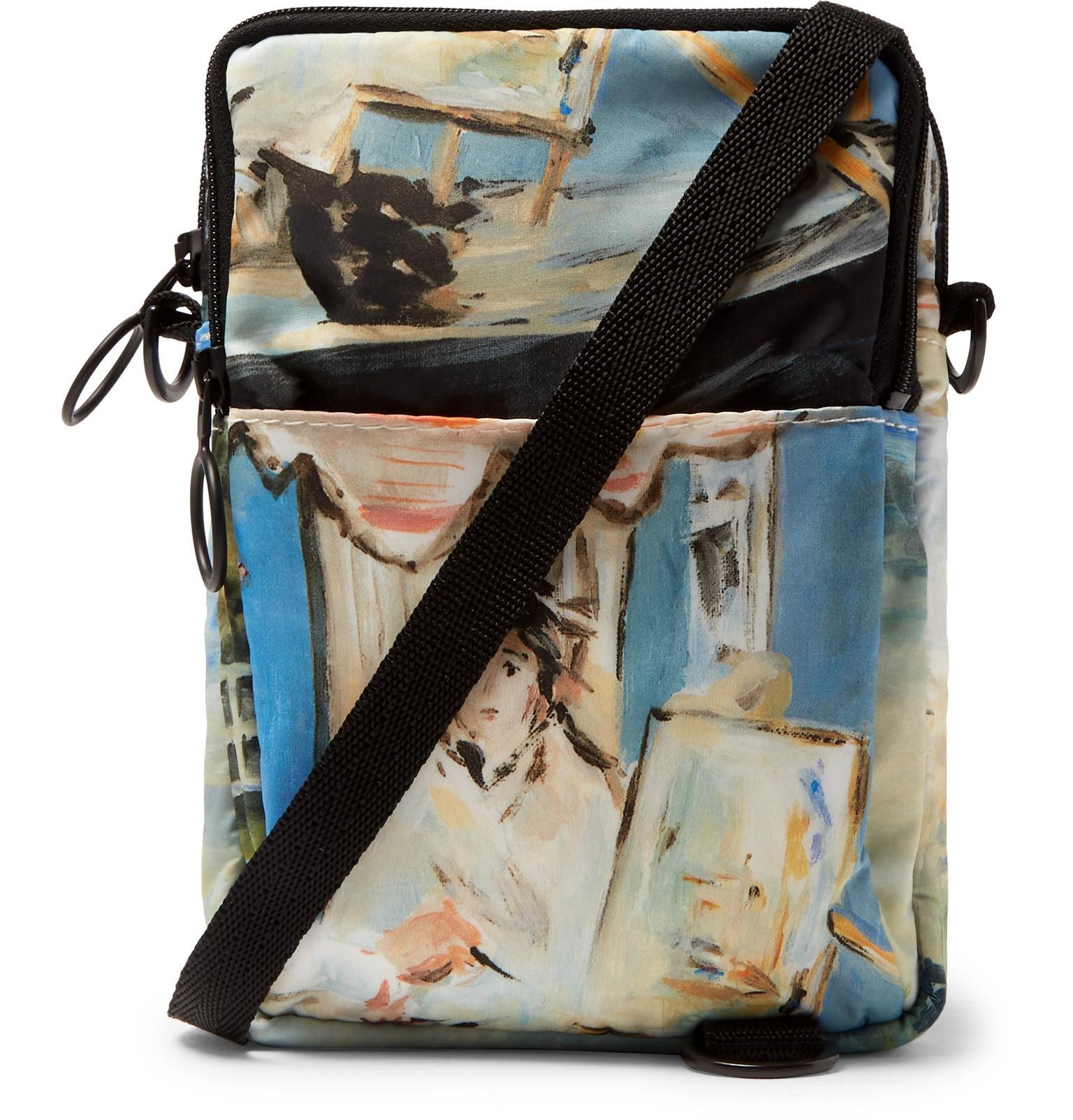 bab7c50a427 Off-White c o Virgil Abloh Printed Shell Messenger Bag in Blue for ...