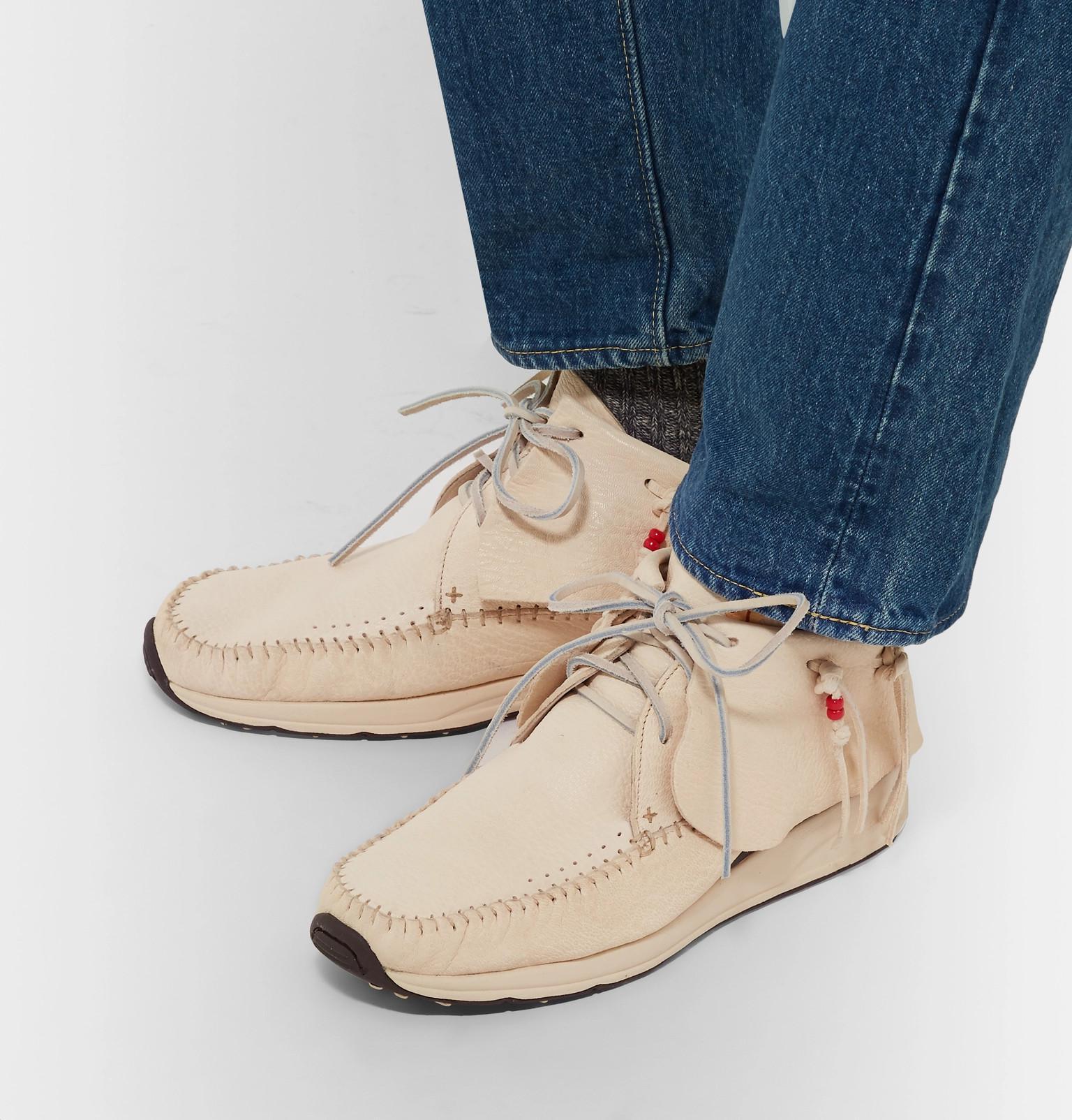 Grain Full Sneakers Leather Visvim Men Lyst Natural In Fbt For twUq7WWPZc