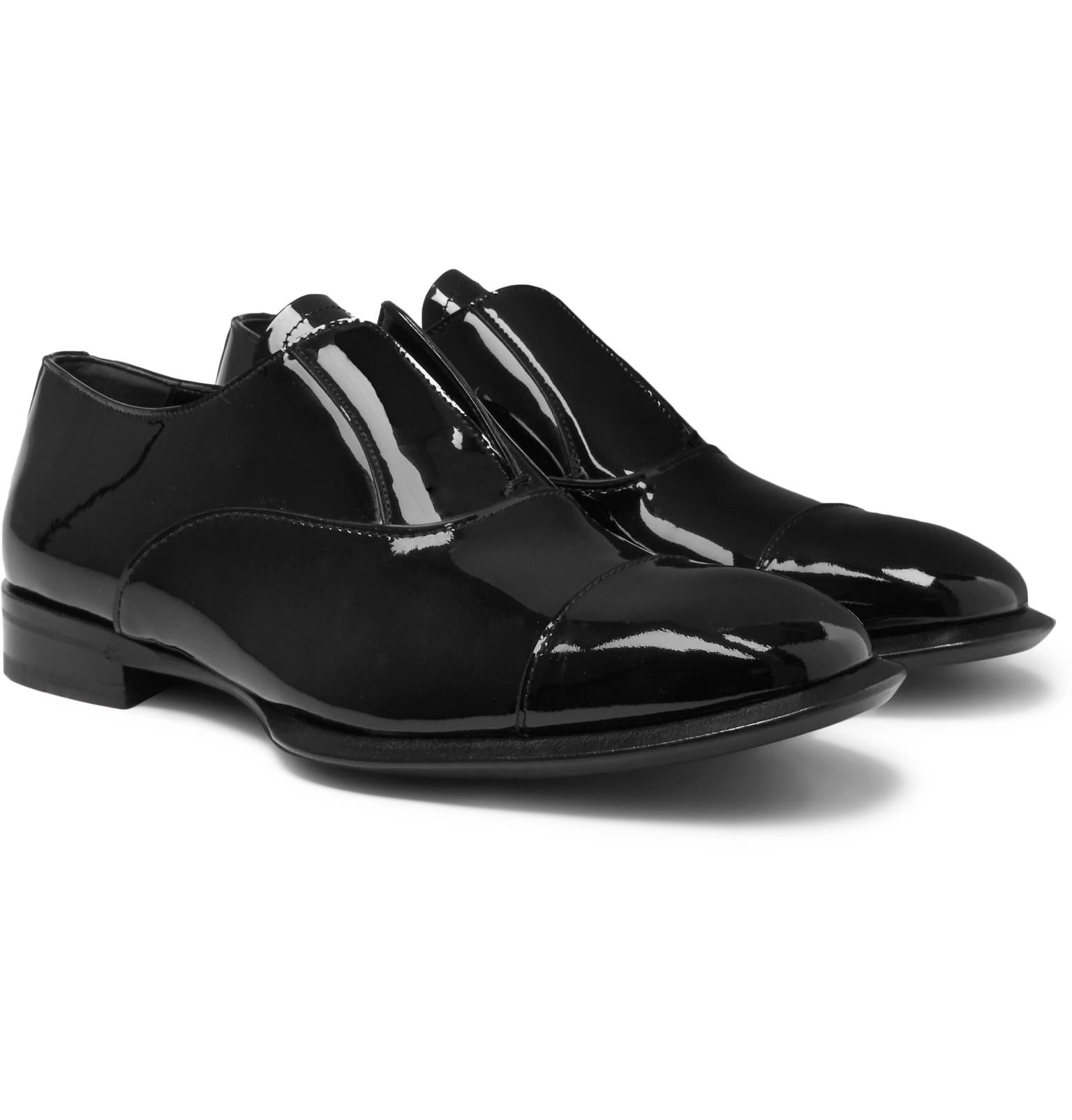 Alexander McQueen Patent Leather Dress Shoes