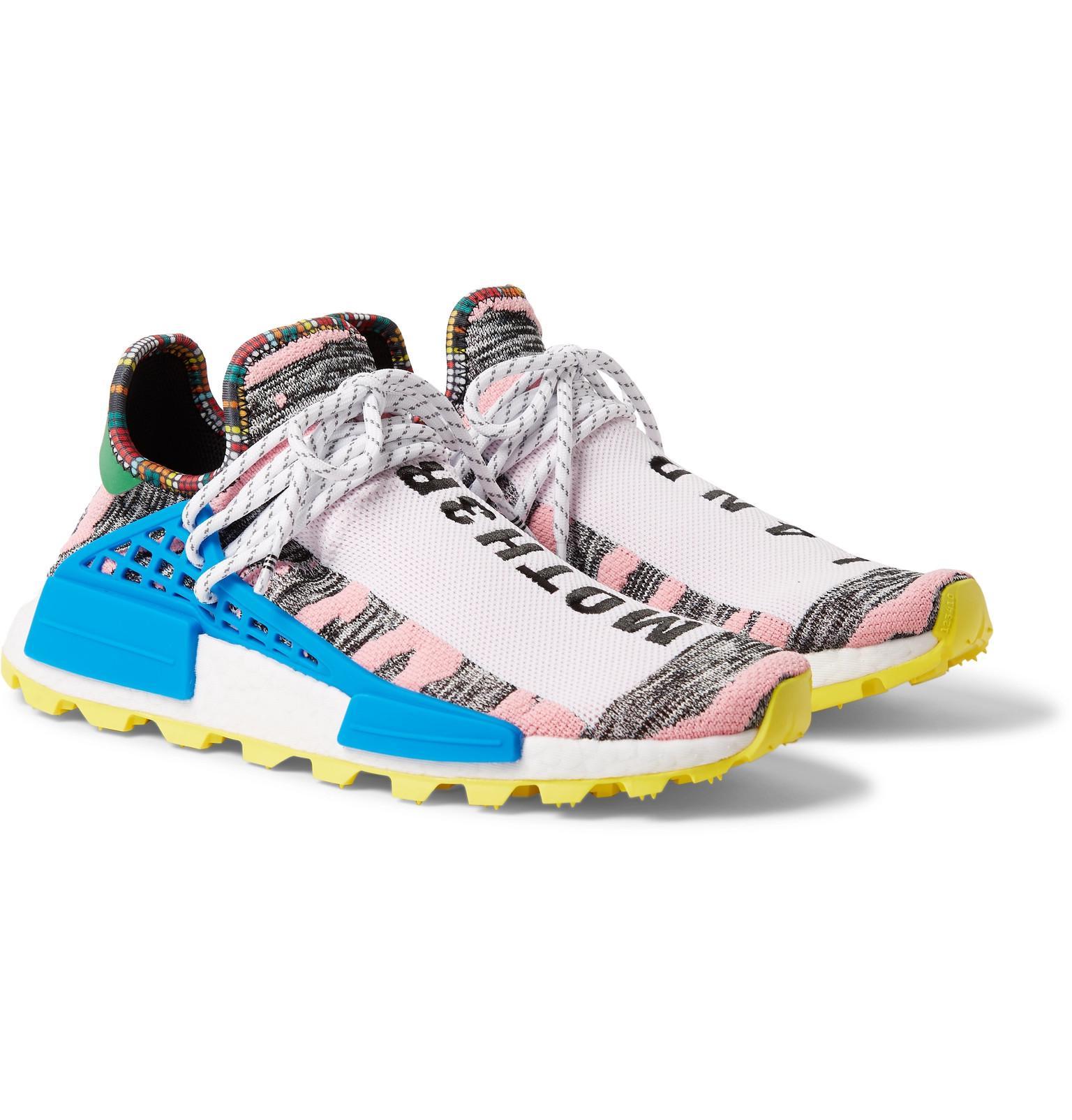 cddbd9a0c1b4e Lyst - adidas Originals + Pharrell Williams Solarhu Nmd Primeknit ...