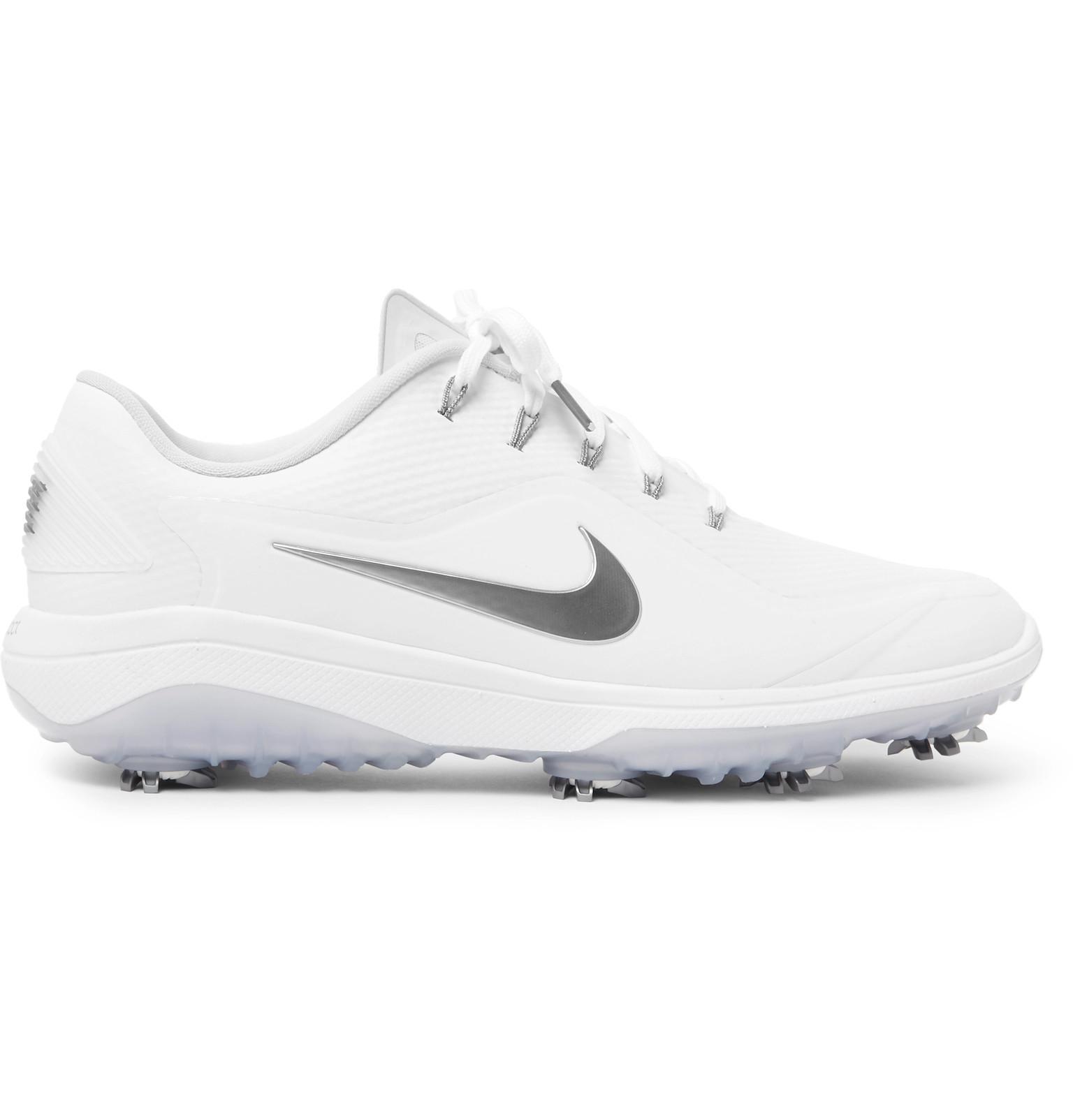 206d749fcb1b6 Nike React Vapor 2 Coated-mesh Golf Shoes in White for Men - Lyst