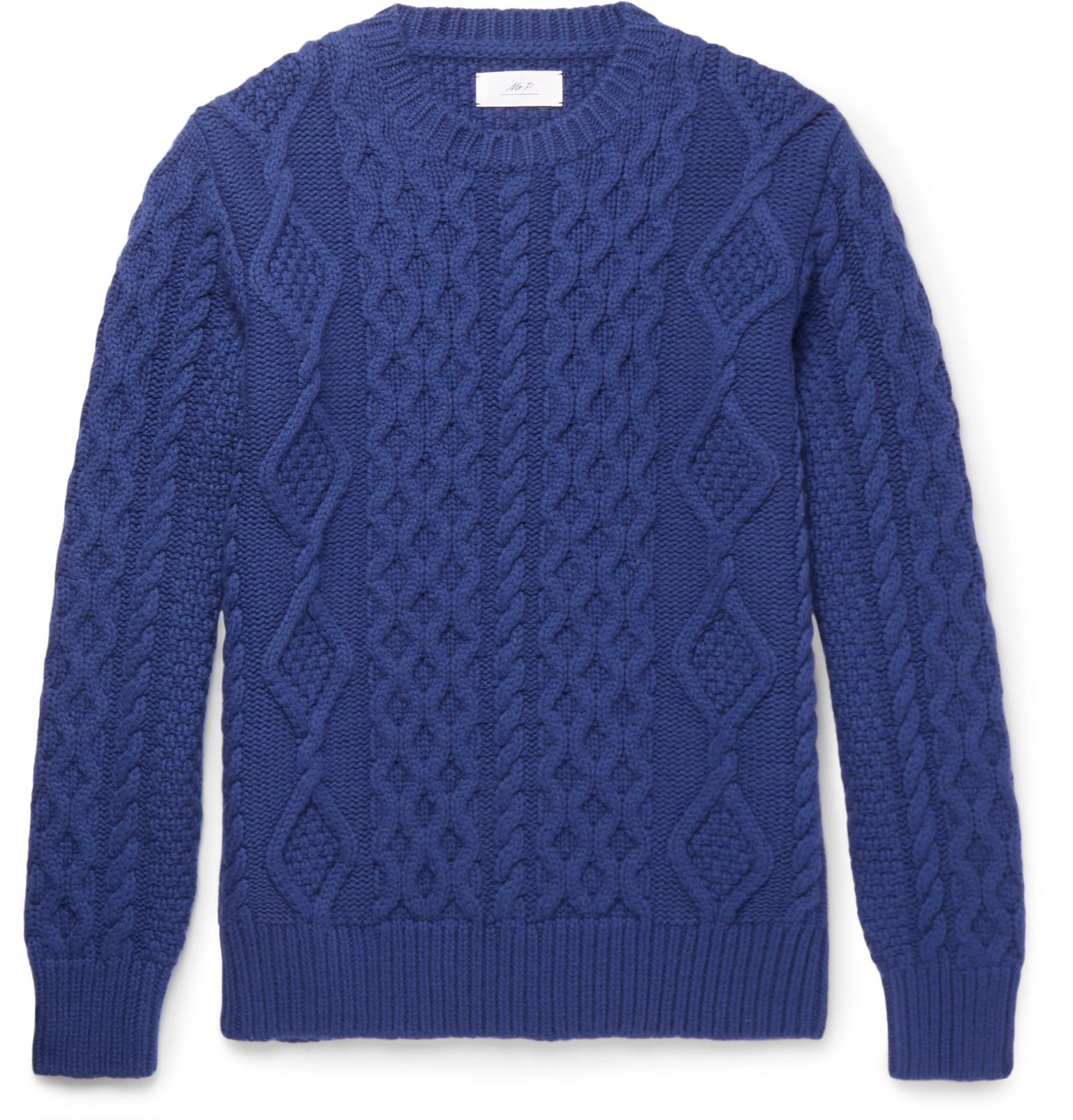 Cashmere Sweater Mr P. Hurry Up Cheap Sale Hot Sale 3N0PP6F
