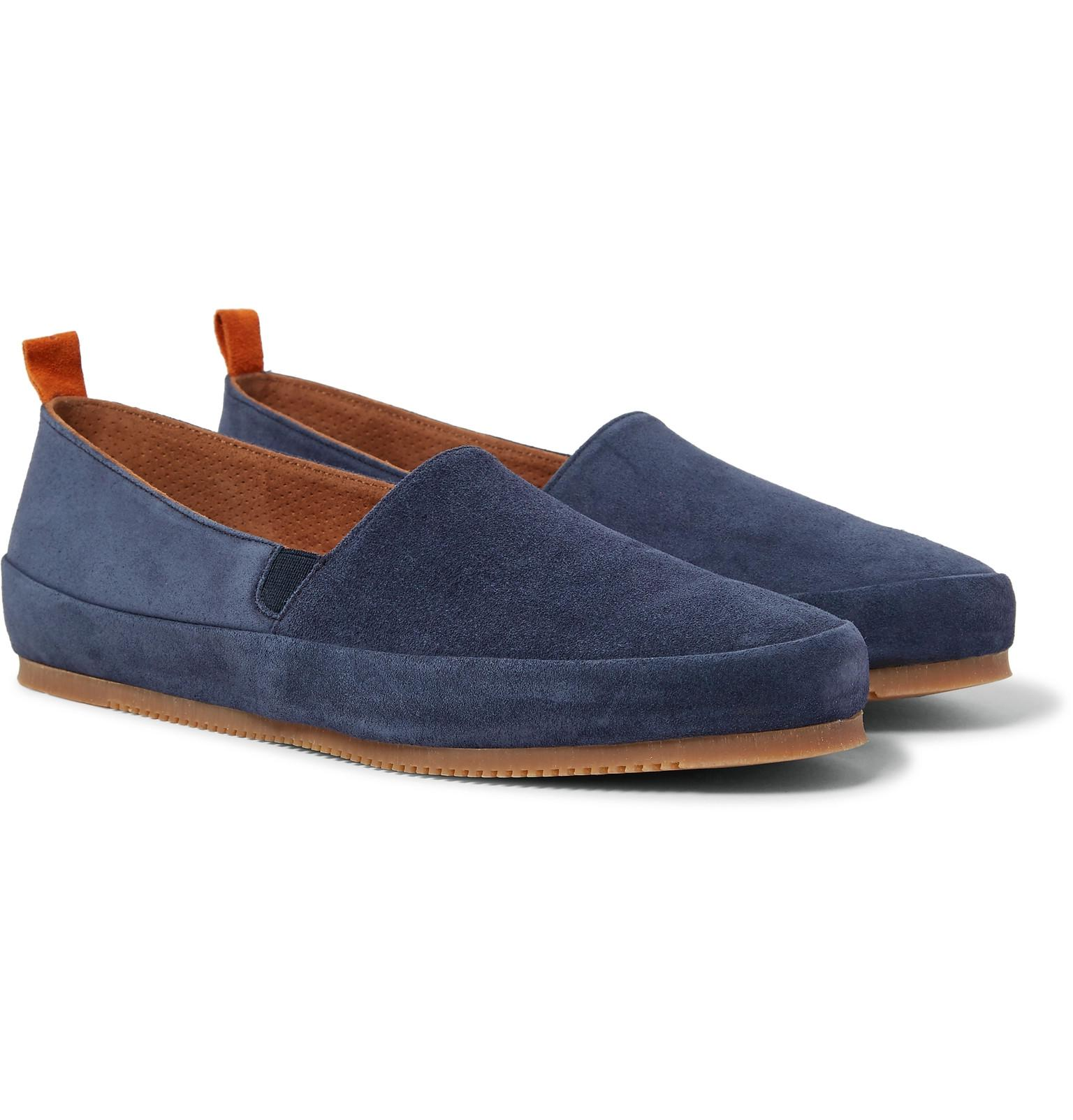 Suede Backless Loafers Mulo BGQvxx