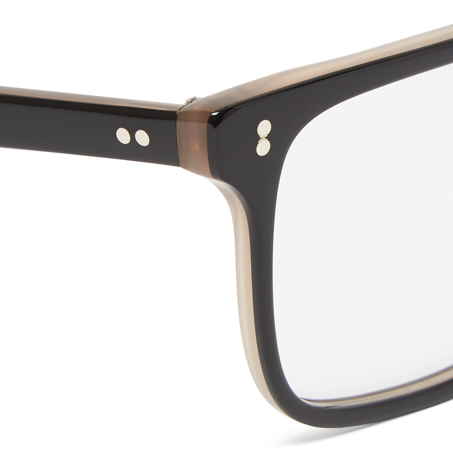 1b15481ab5 Lyst - Kingsman Cutler And Gross Square-frame Acetate Optical ...