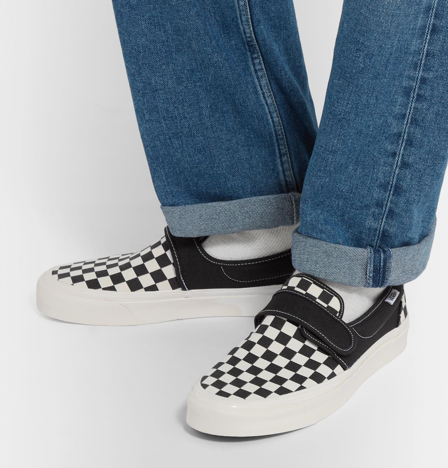 82aef50faf8 Vans Slip-on 47 V Dx Anaheim Factory Pack Sneakers in Black for Men ...