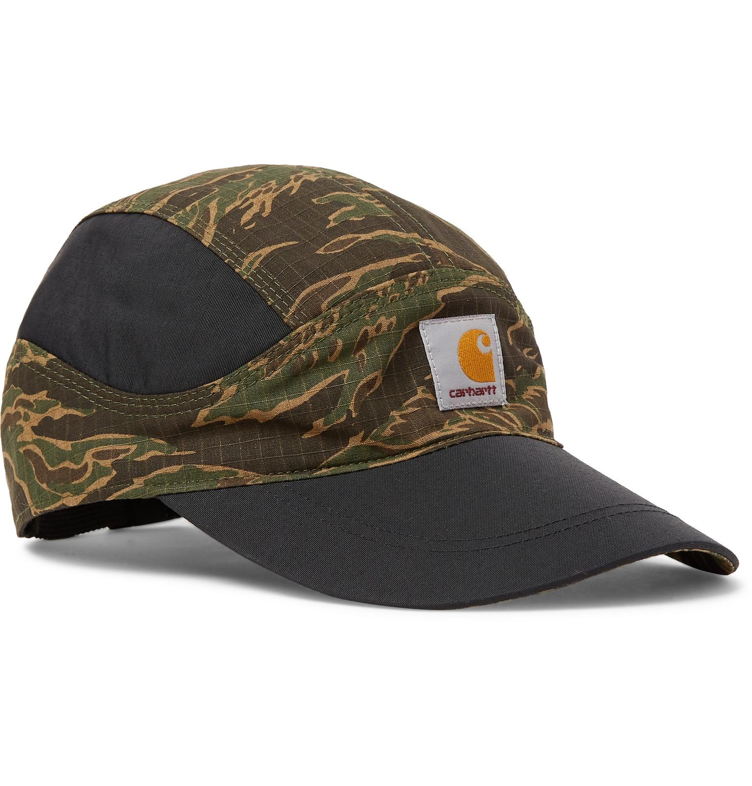 c05df7f735a4ca Nike + Carhartt Tailwind Camouflage-print Cotton-ripstop And Nylon ...