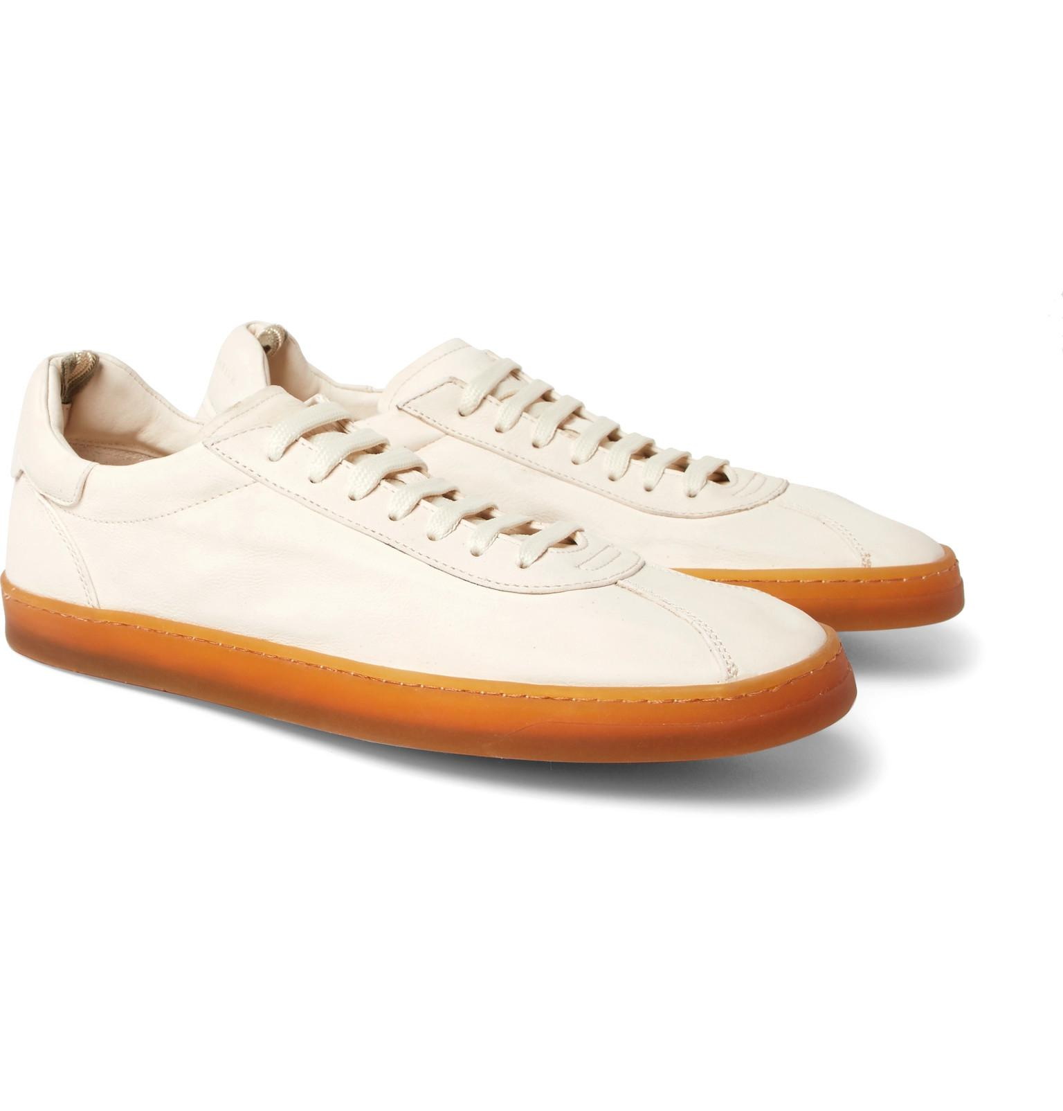 Karma Full-grain Leather Sneakers Officine Creative z2GaDC