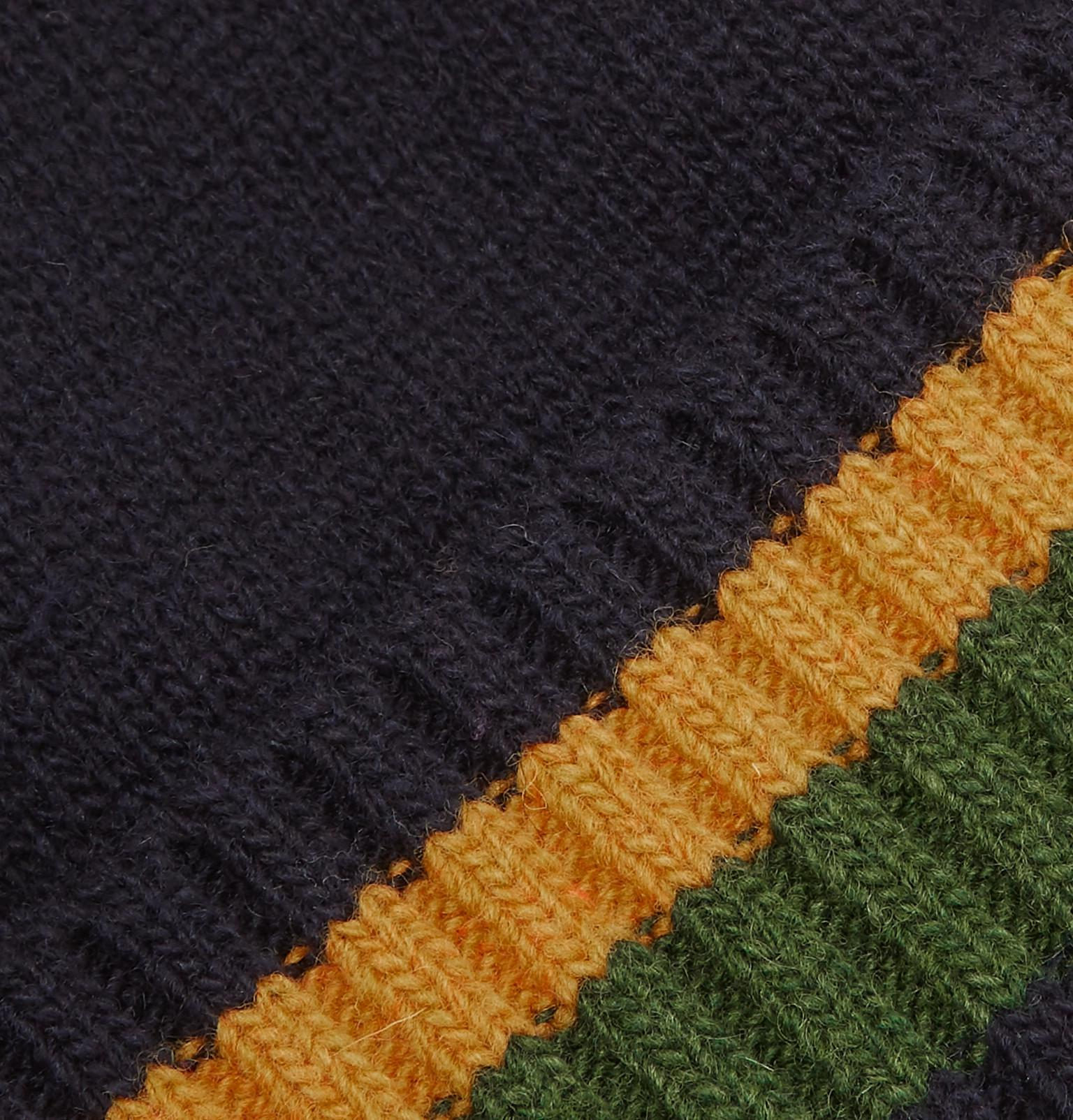 11457b5fd09 Oliver Spencer - Blue Arbury Striped Wool Beanie for Men - Lyst. View  fullscreen